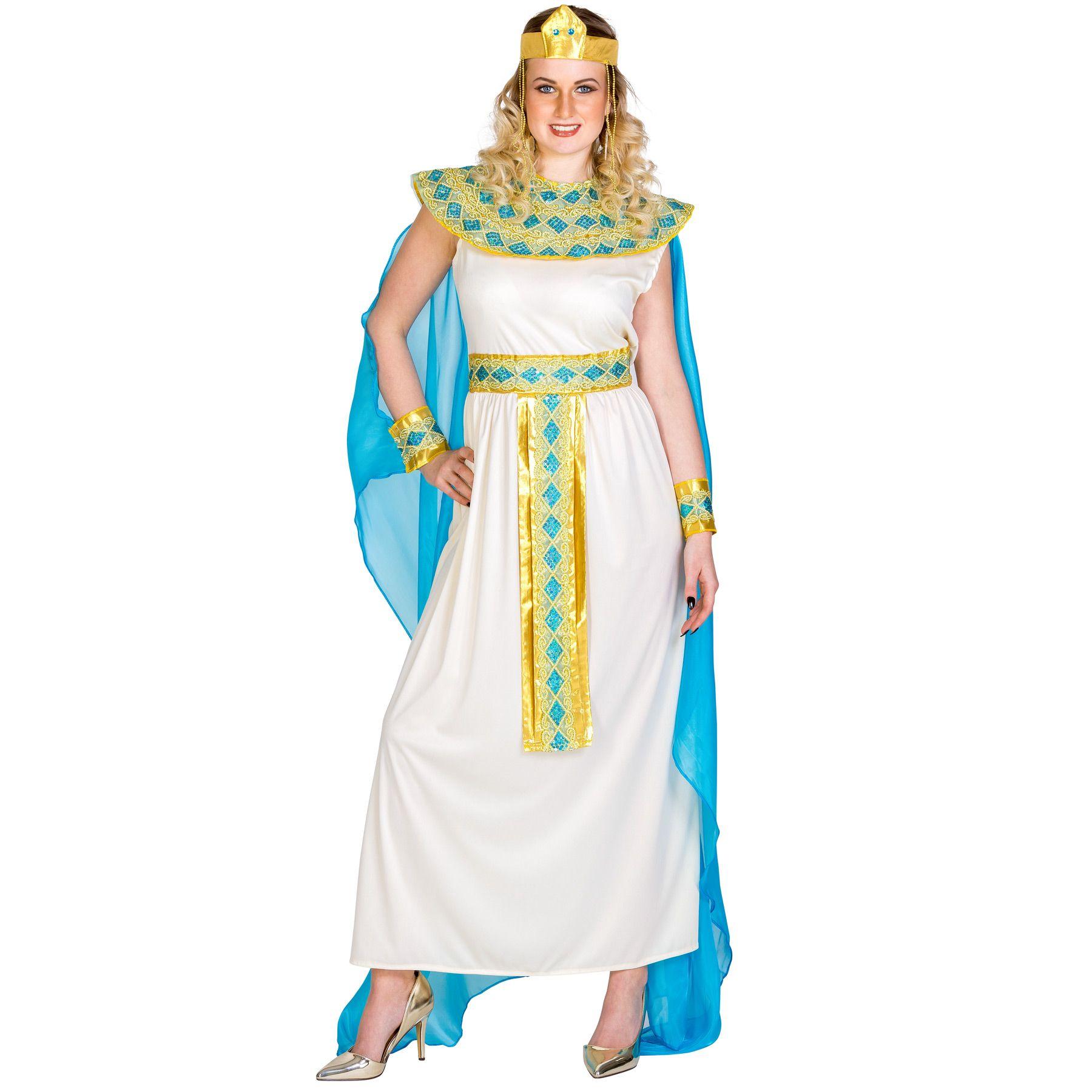 kleopatra kost m karneval fasching fastnacht damen faschingskost m gypterin ebay. Black Bedroom Furniture Sets. Home Design Ideas