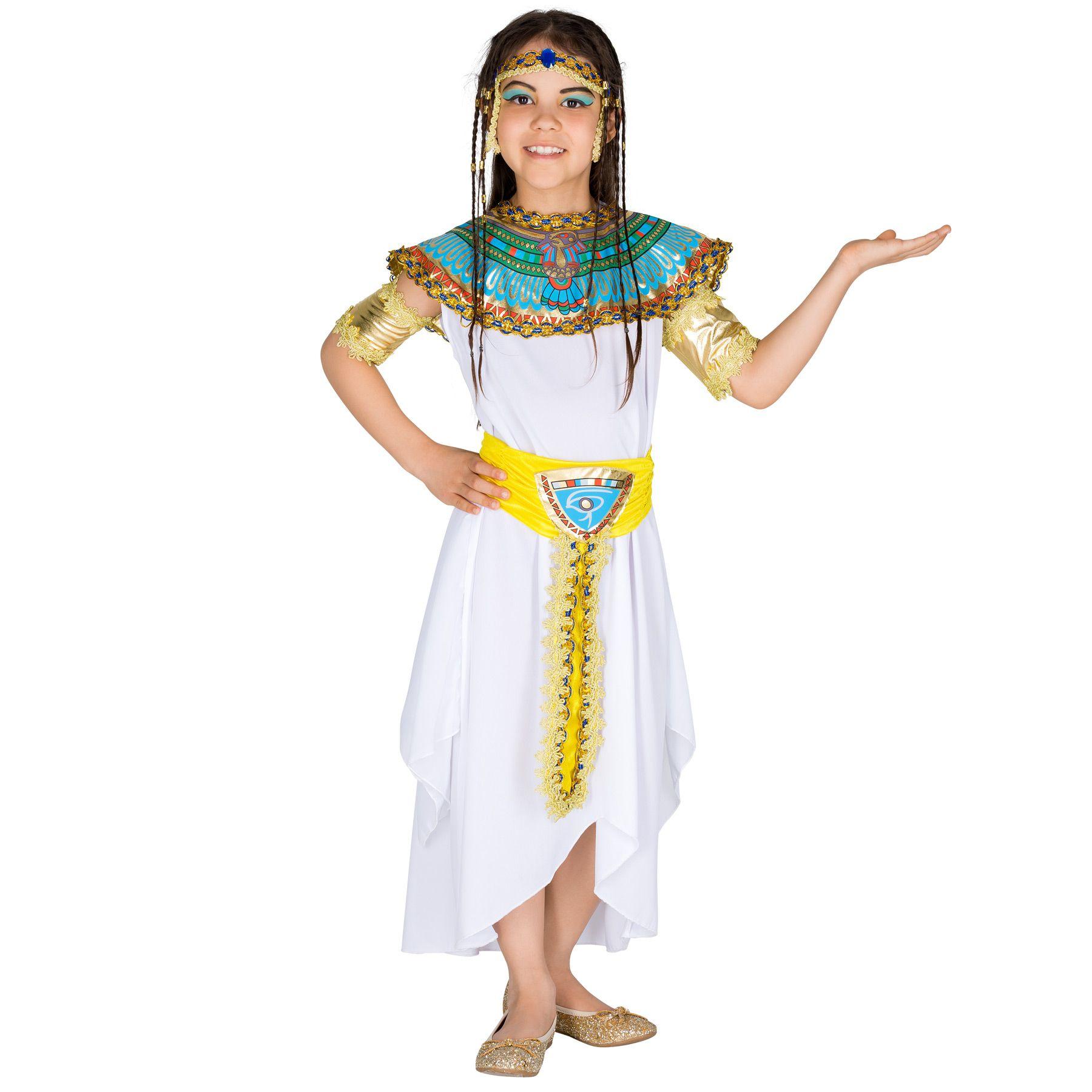 NUOVA DEA ROMANA 122-134cm Ragazze Per Bambini Costume