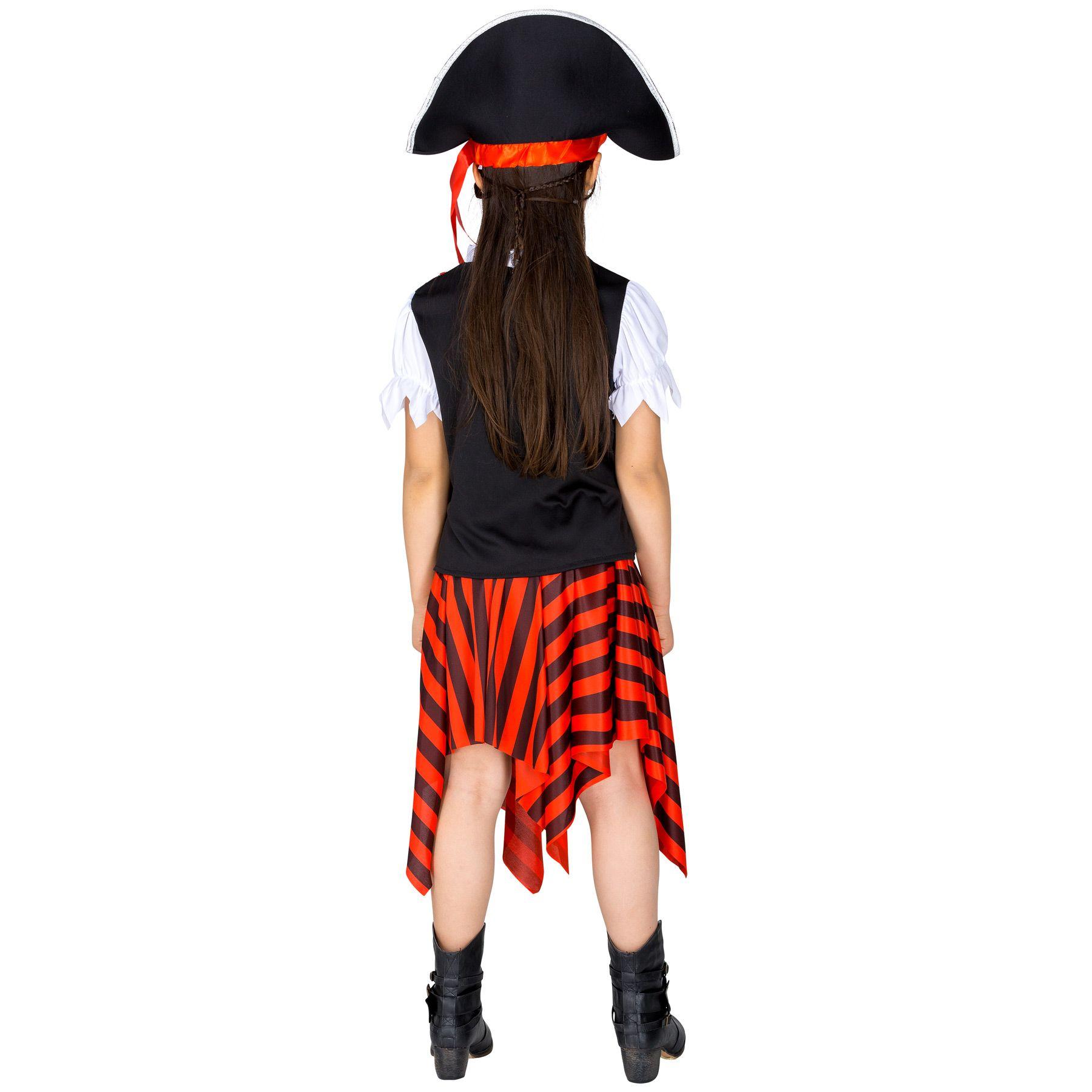 Il magnifico costume da piccola corsara Marla Sciaboletta è costituito da  una grande gonna asimmetrica con elastico. Il costume comprende inoltre un  parte ... c6a96bfd96a