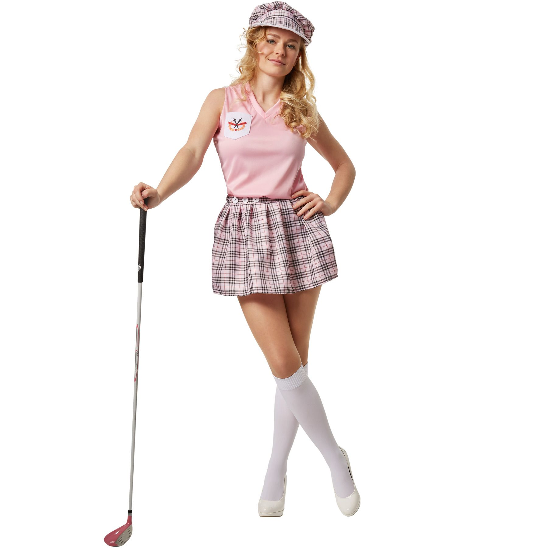 women's golfer costume golf outfit golfing player sport