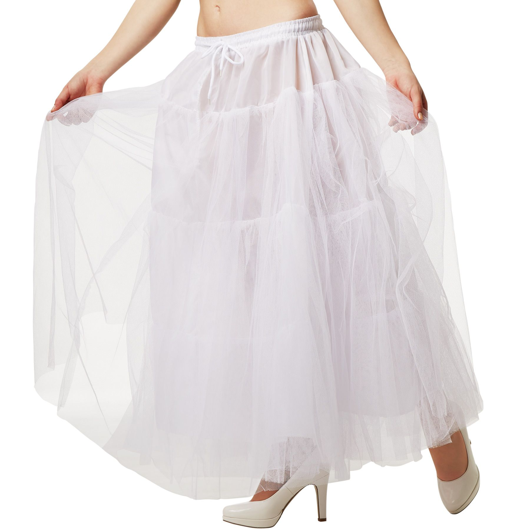 Détails sur Jupon avec 3 couches tulle Tutu Jupe vintage 50s Petticoat déguisement carnaval