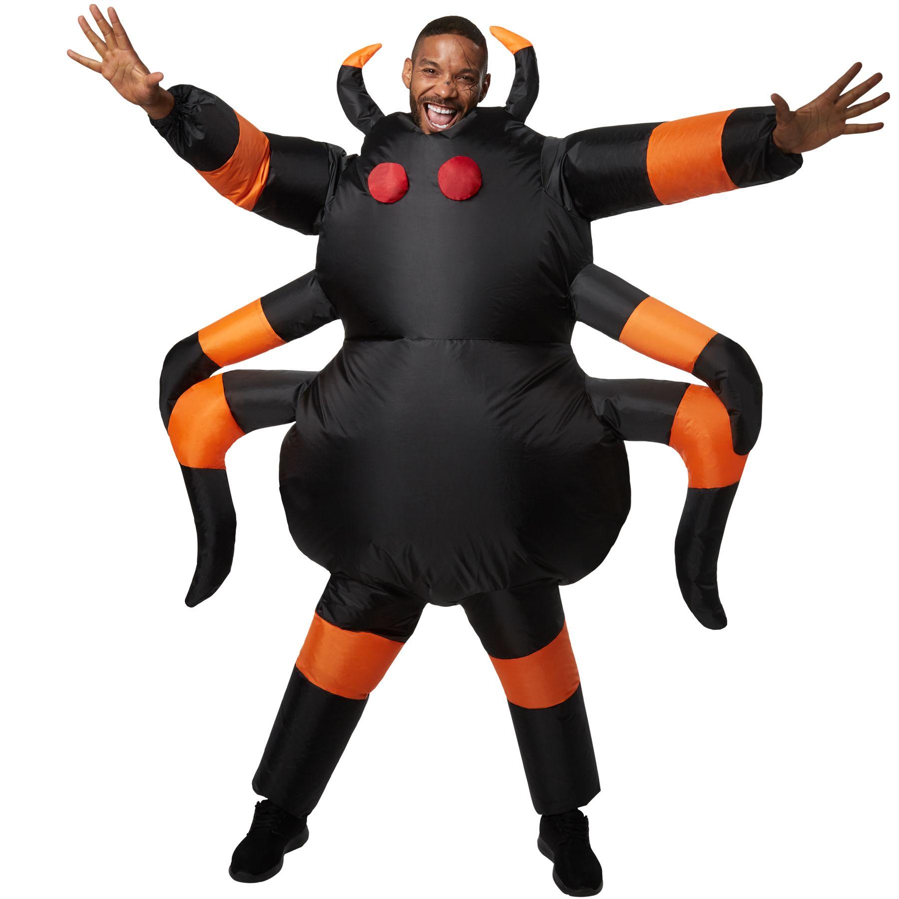 Unisex Costume gonfiabile Ragno Insetto Animale Vestito Carnevale Halloween nuov