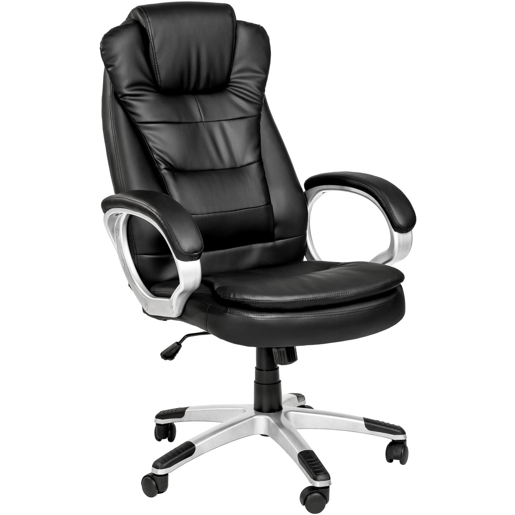 Poltrona sedia ufficio presidenziale con doppia for Sedia ortopedica per ufficio