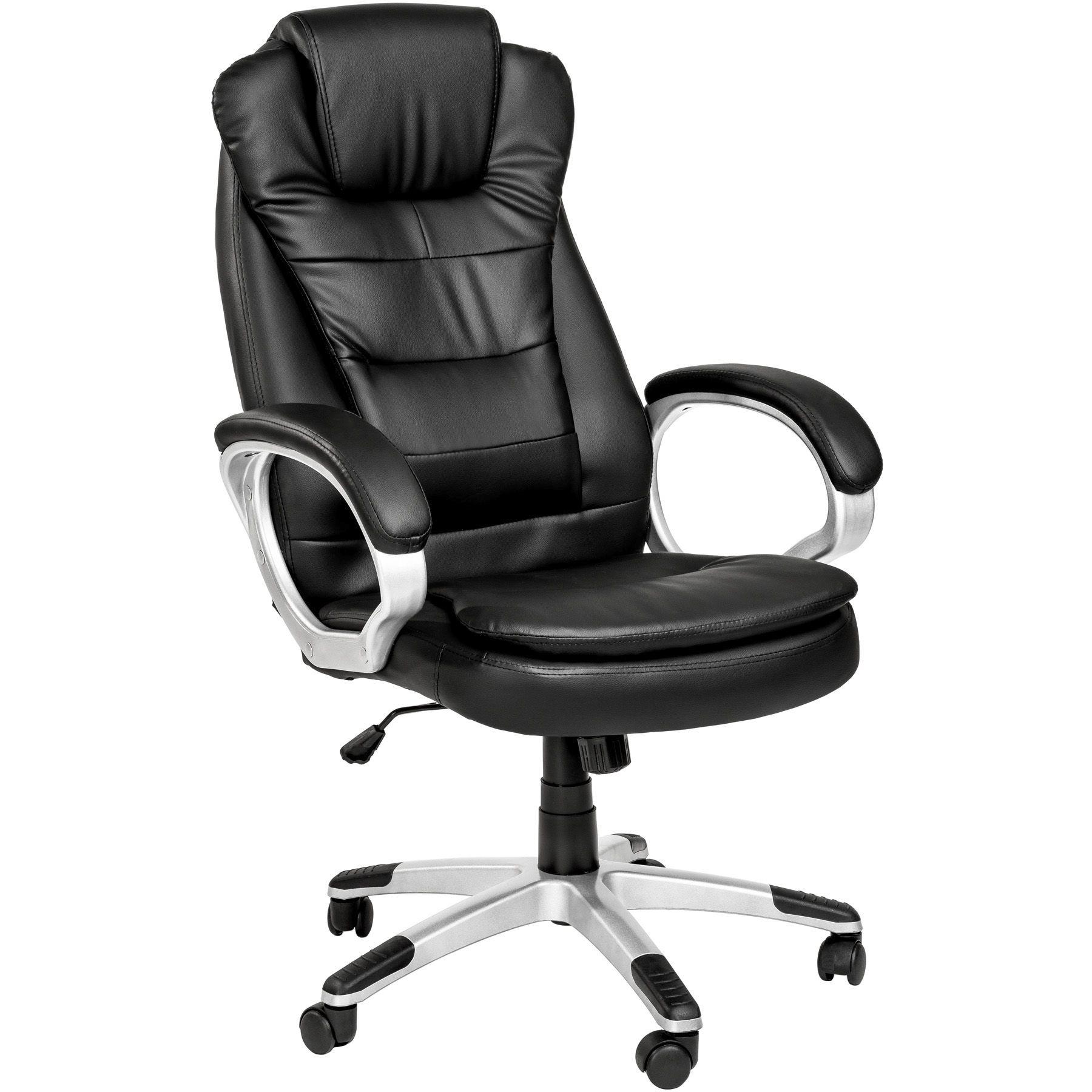 Détails sur Chaise fauteuil siège de bureau hauteur réglable avec double rembourrage