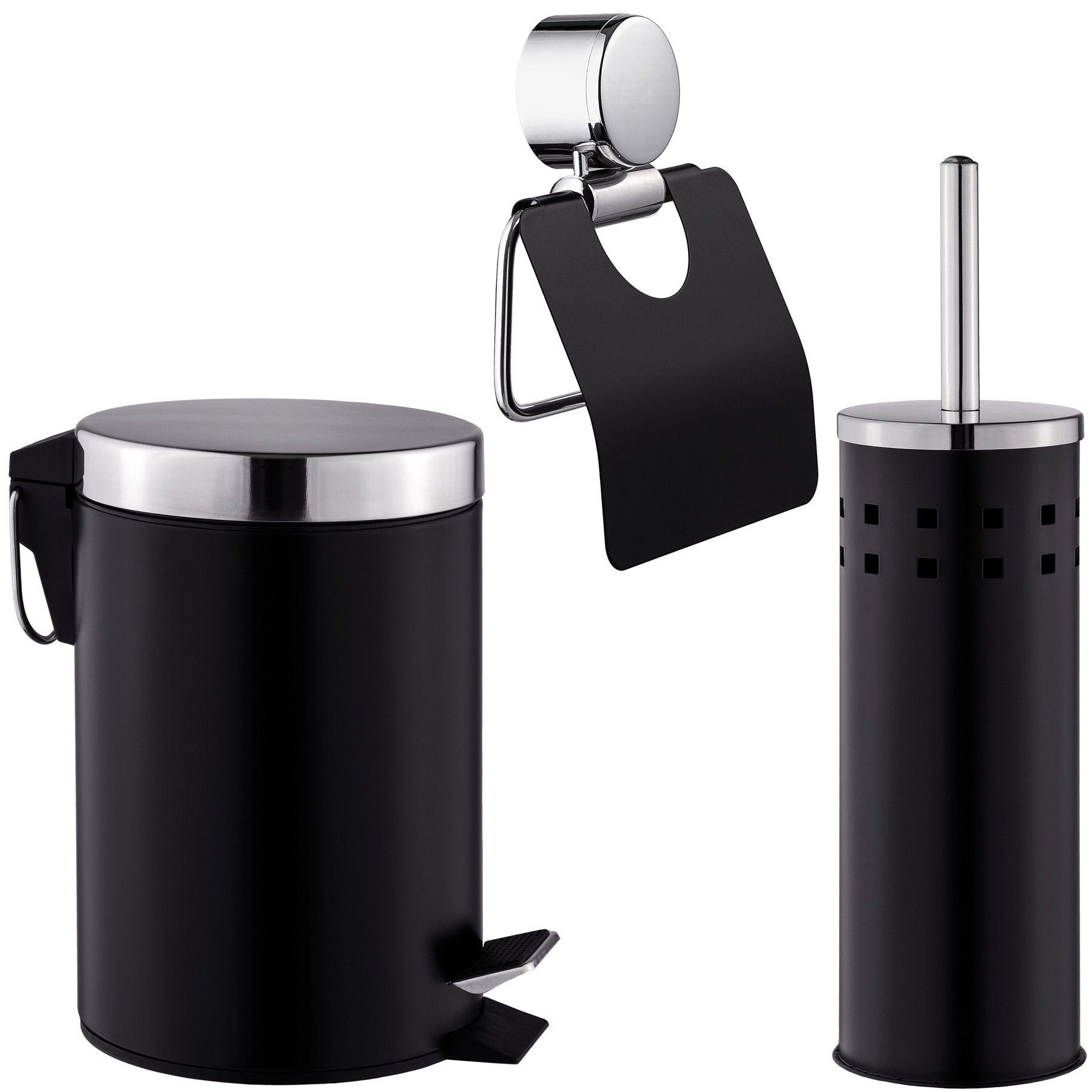set salle de bain brosse pour toilettes porte papier. Black Bedroom Furniture Sets. Home Design Ideas