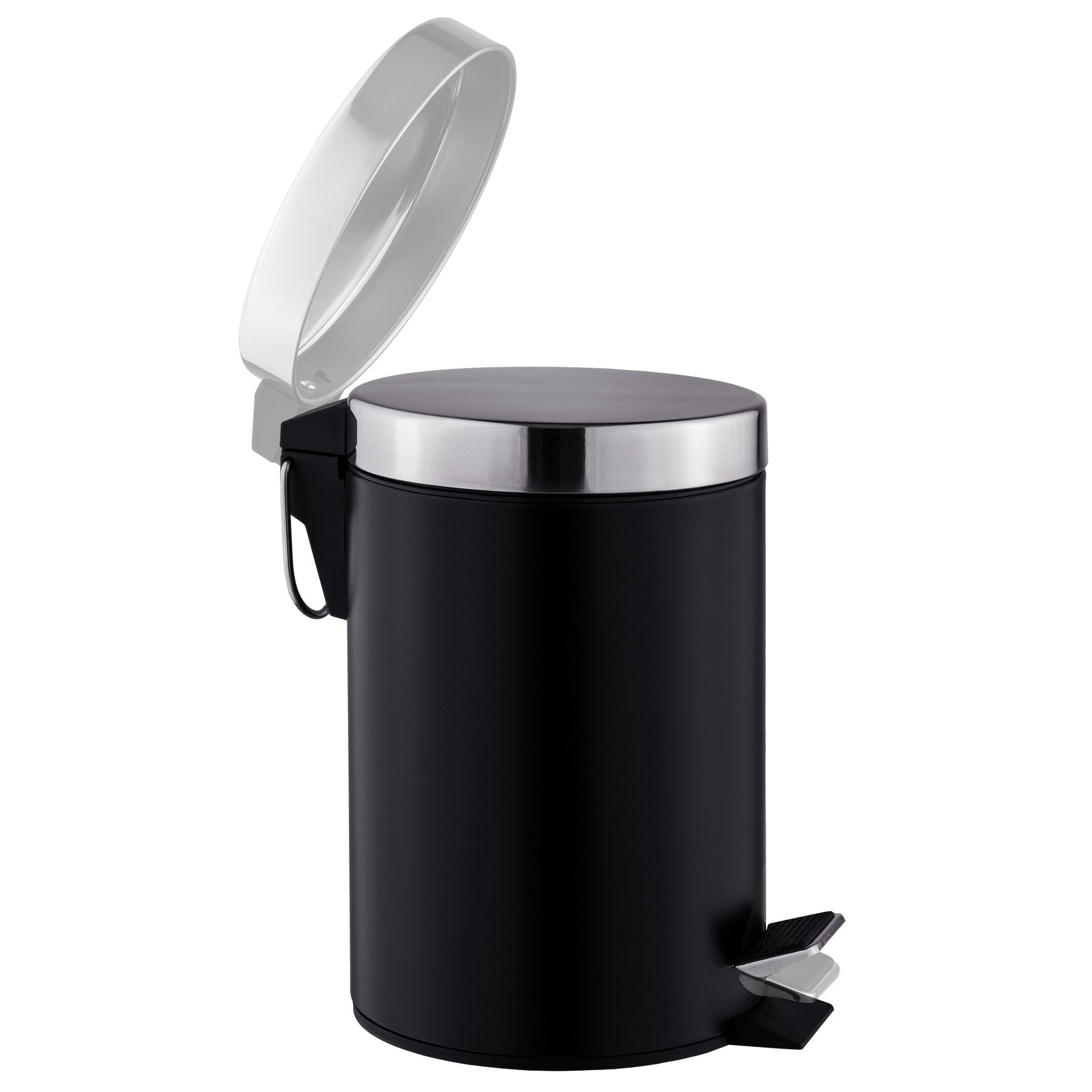 Toilet Roll And Brush Holder Dust Bin Bath Accessory Set