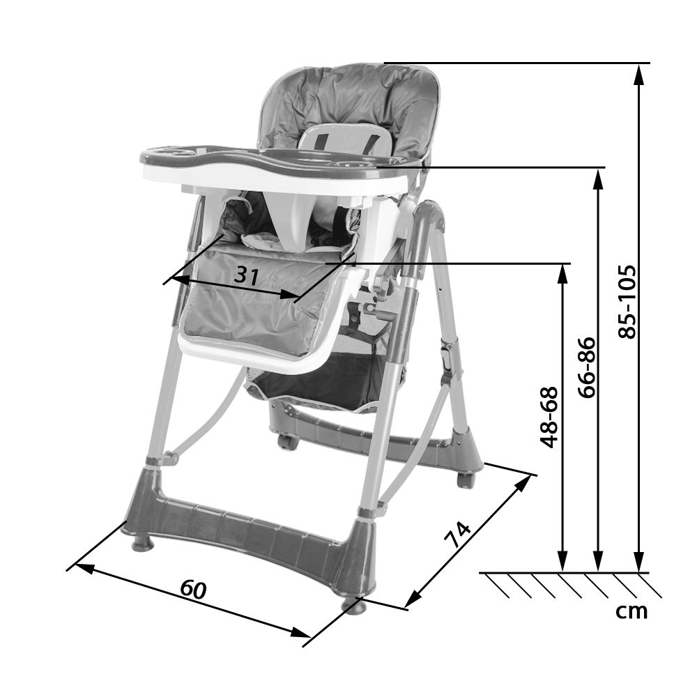 kinderhochstuhl treppenhochstuhl babyhochstuhl babystuhl kinderstuhl rot blau ebay. Black Bedroom Furniture Sets. Home Design Ideas
