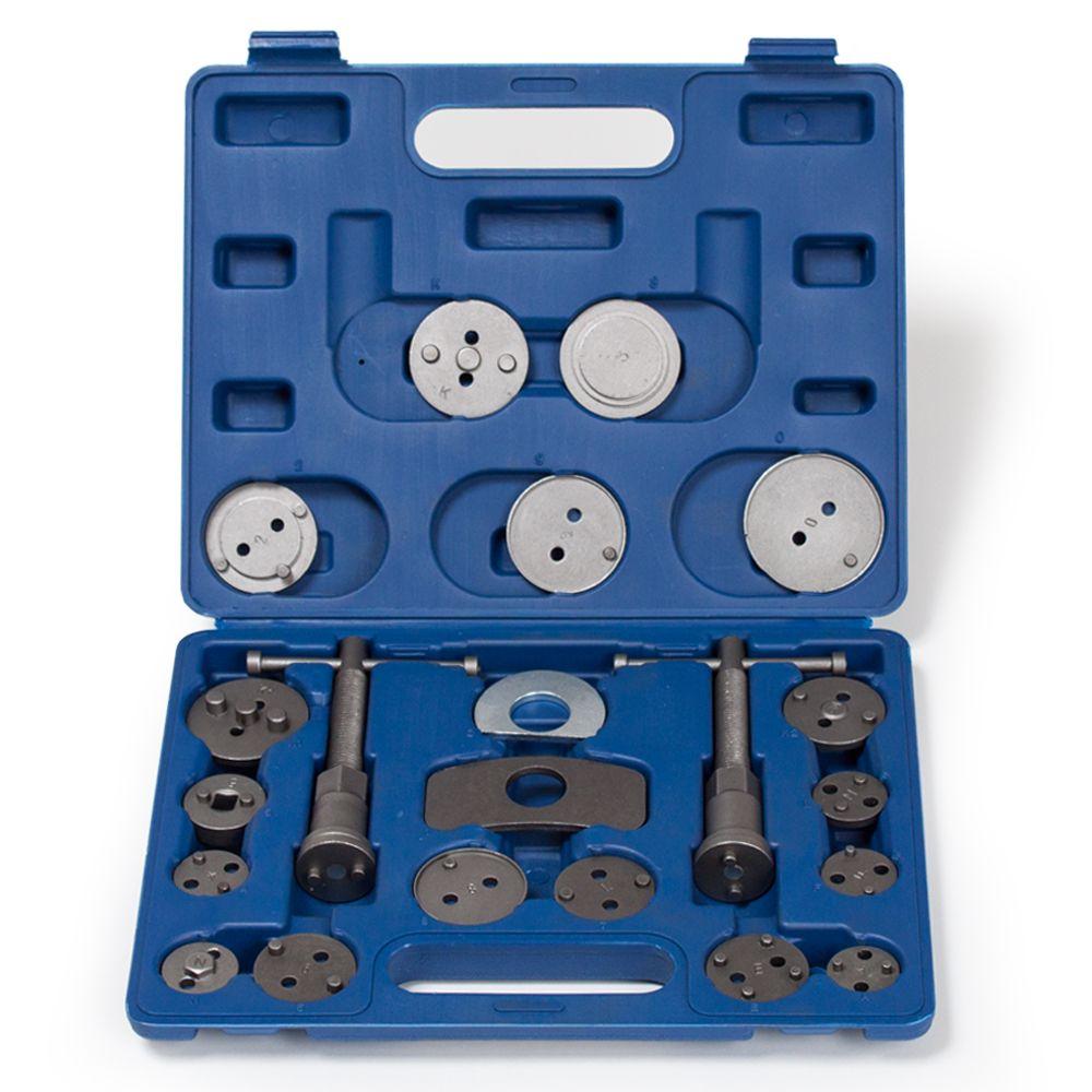 Reposicionador de pistones Reposicion de freno con maletín de herramientas 22 pz