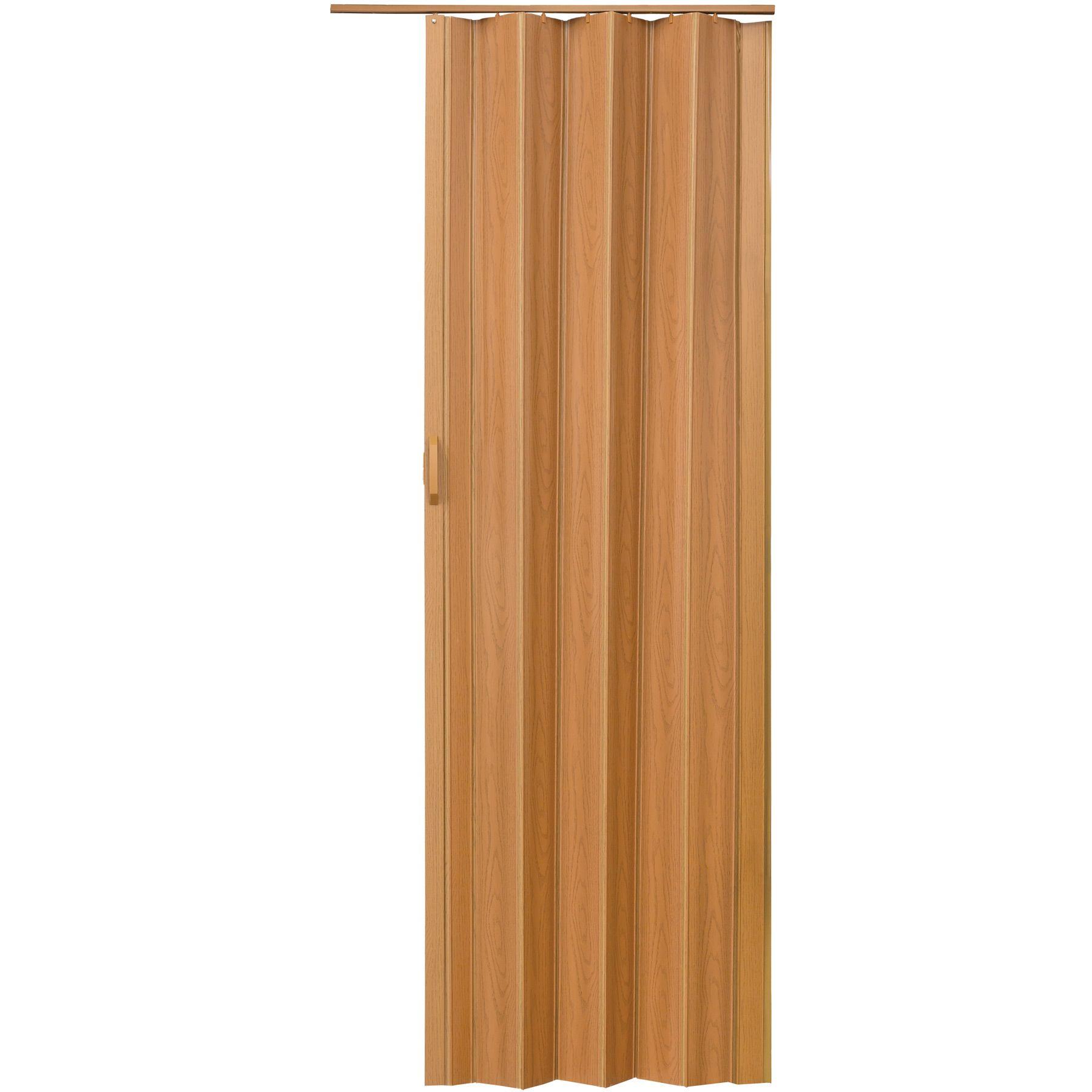 porte accord on placard pliante extensible pvc salle de bain 80 x 203 cm noyer ebay. Black Bedroom Furniture Sets. Home Design Ideas