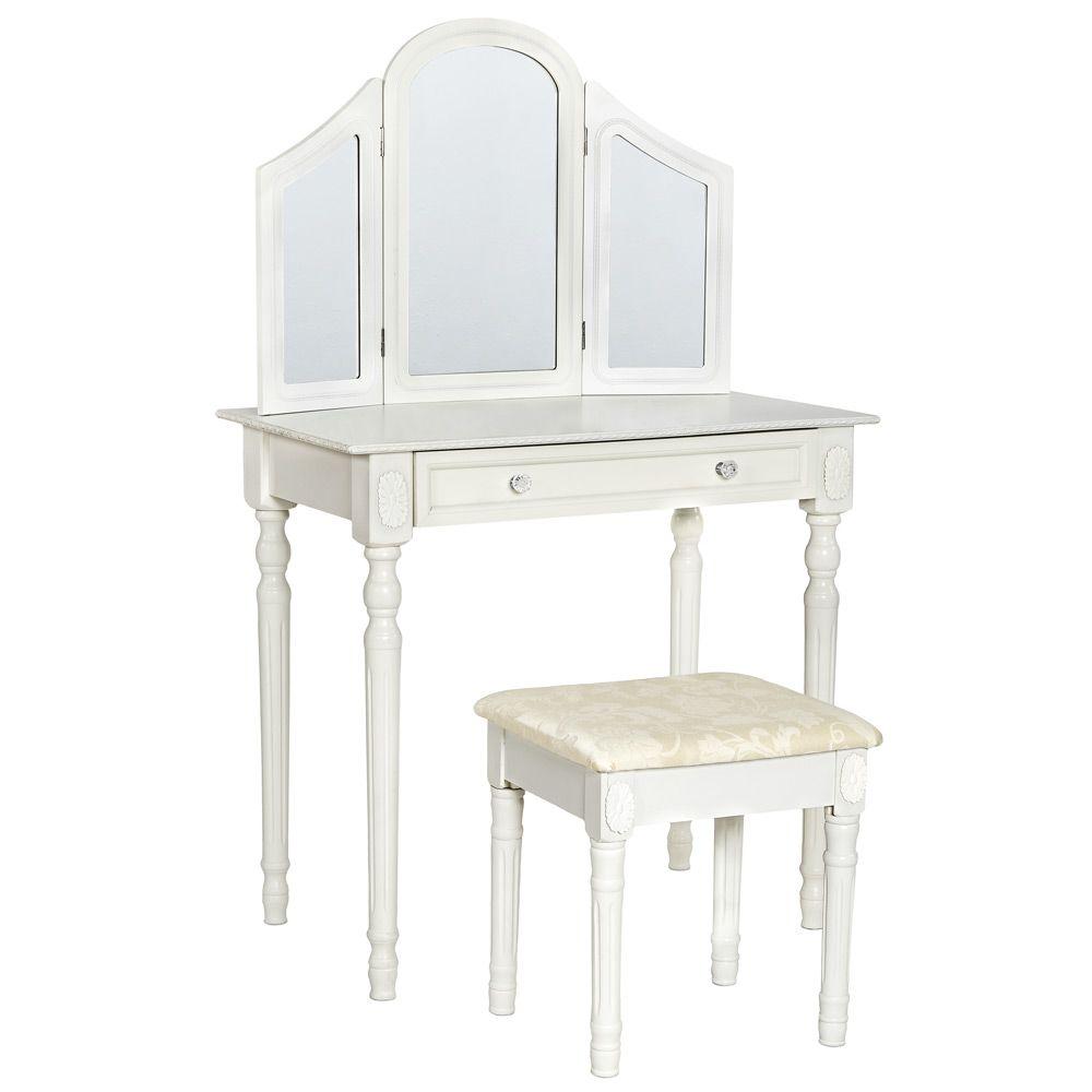 schminktisch kosmetiktisch frisierkommode frisiertisch mit. Black Bedroom Furniture Sets. Home Design Ideas