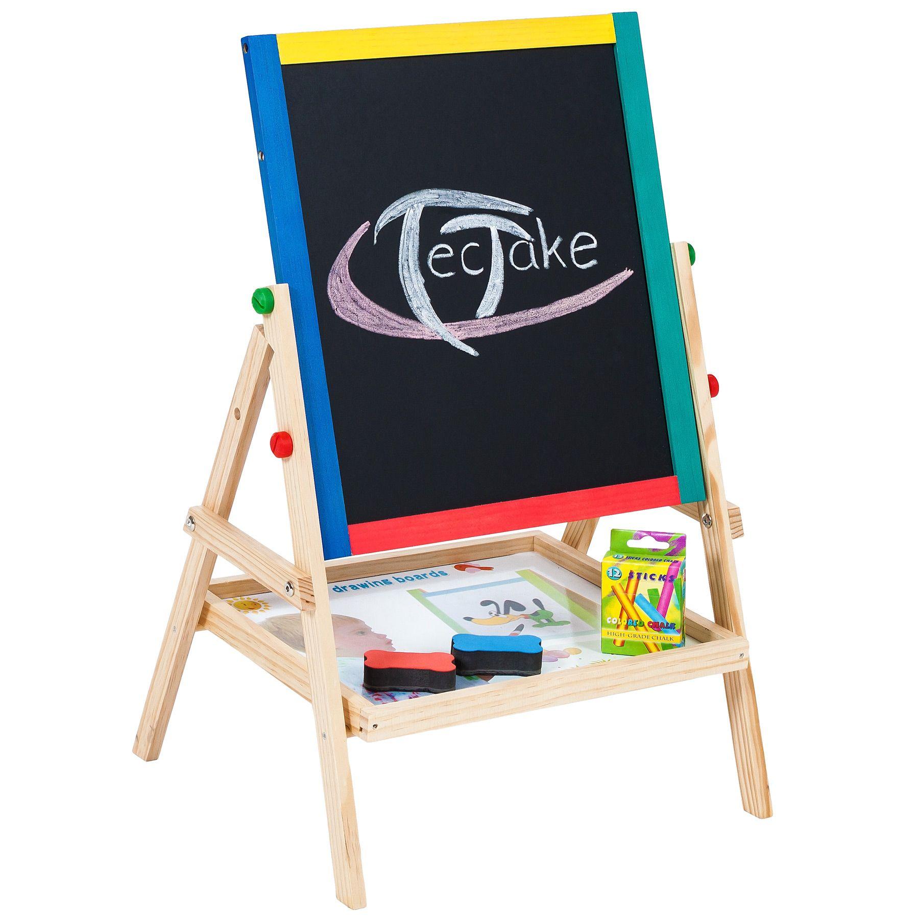 Pizarra Infantil 2 en 1 Juego para pintar magnética escolar ...