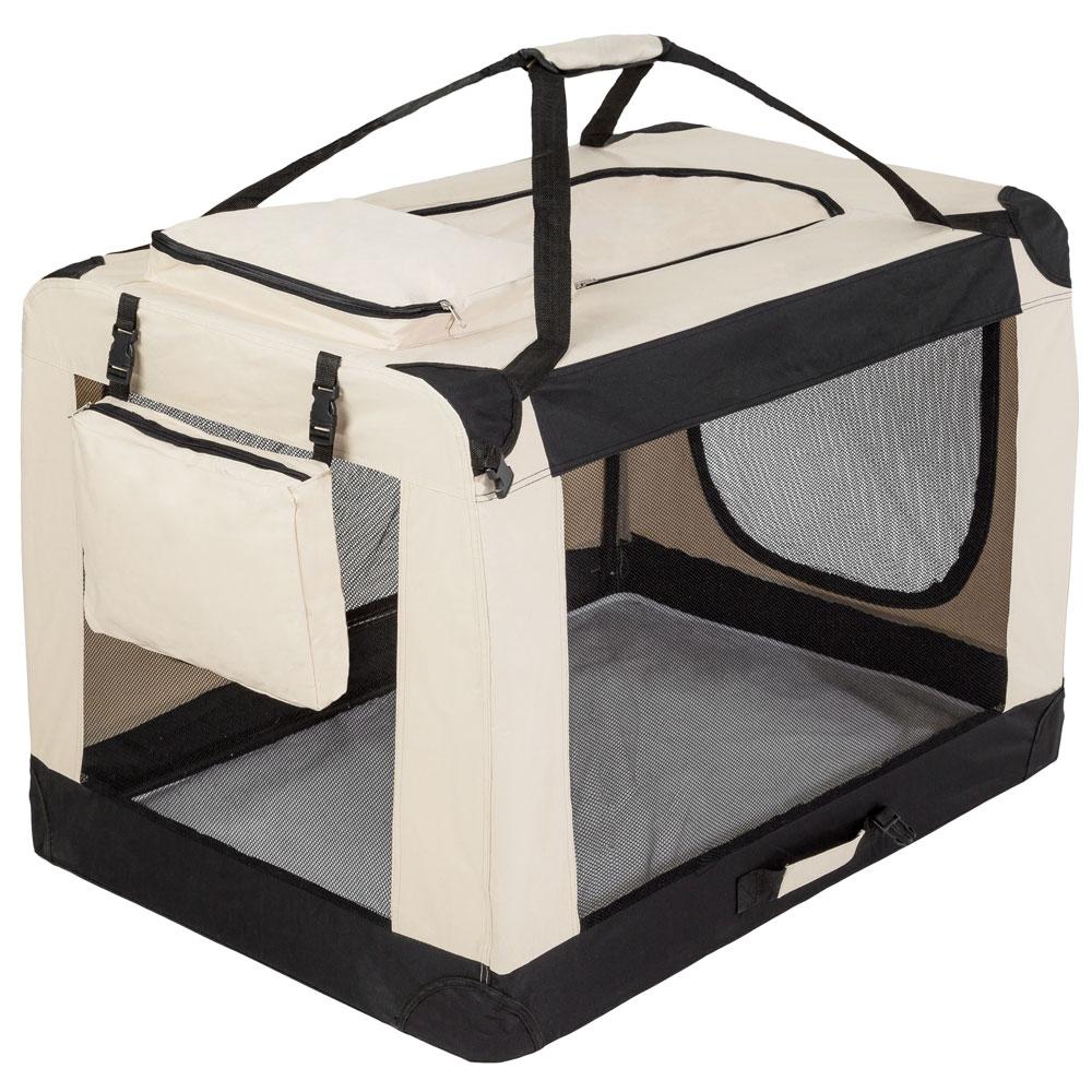 faltbare hundetransportbox transportbox hundebox katzen. Black Bedroom Furniture Sets. Home Design Ideas