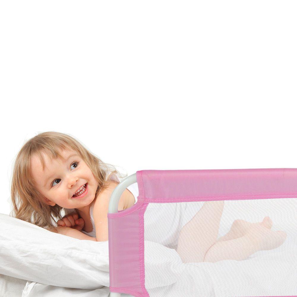 Barriera sponda per letto bambini ribaltabile pieghevole universale 102cm ebay - Barriere letto per bambini ...