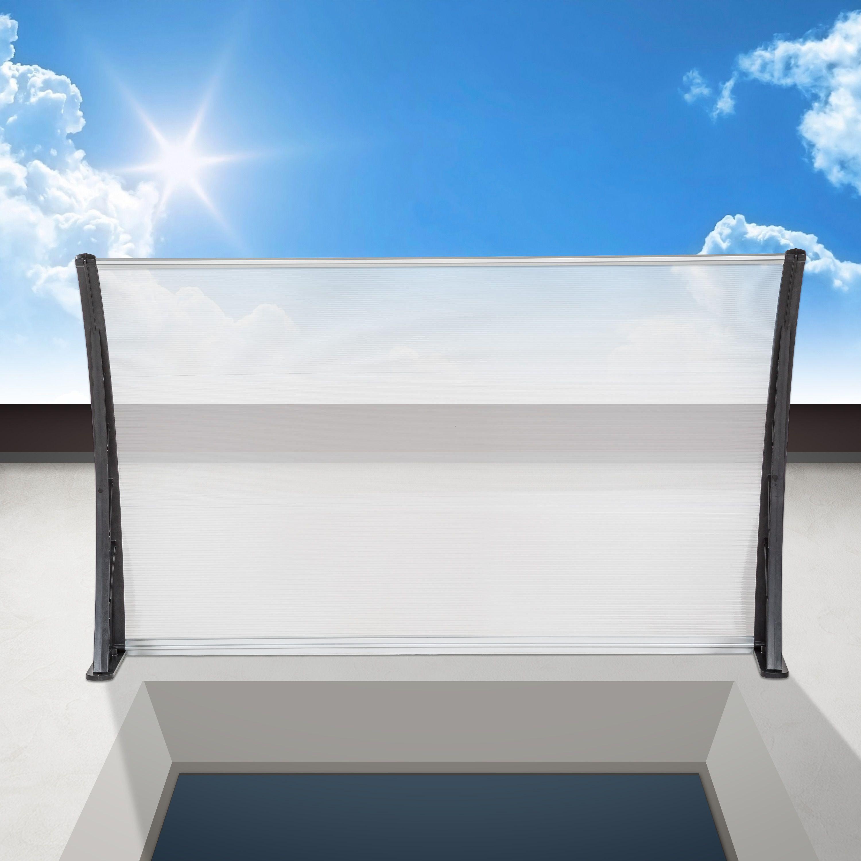 vordach haust r berdachung haust rvordach haust rdach pultvordach t rdach 150cm ebay. Black Bedroom Furniture Sets. Home Design Ideas