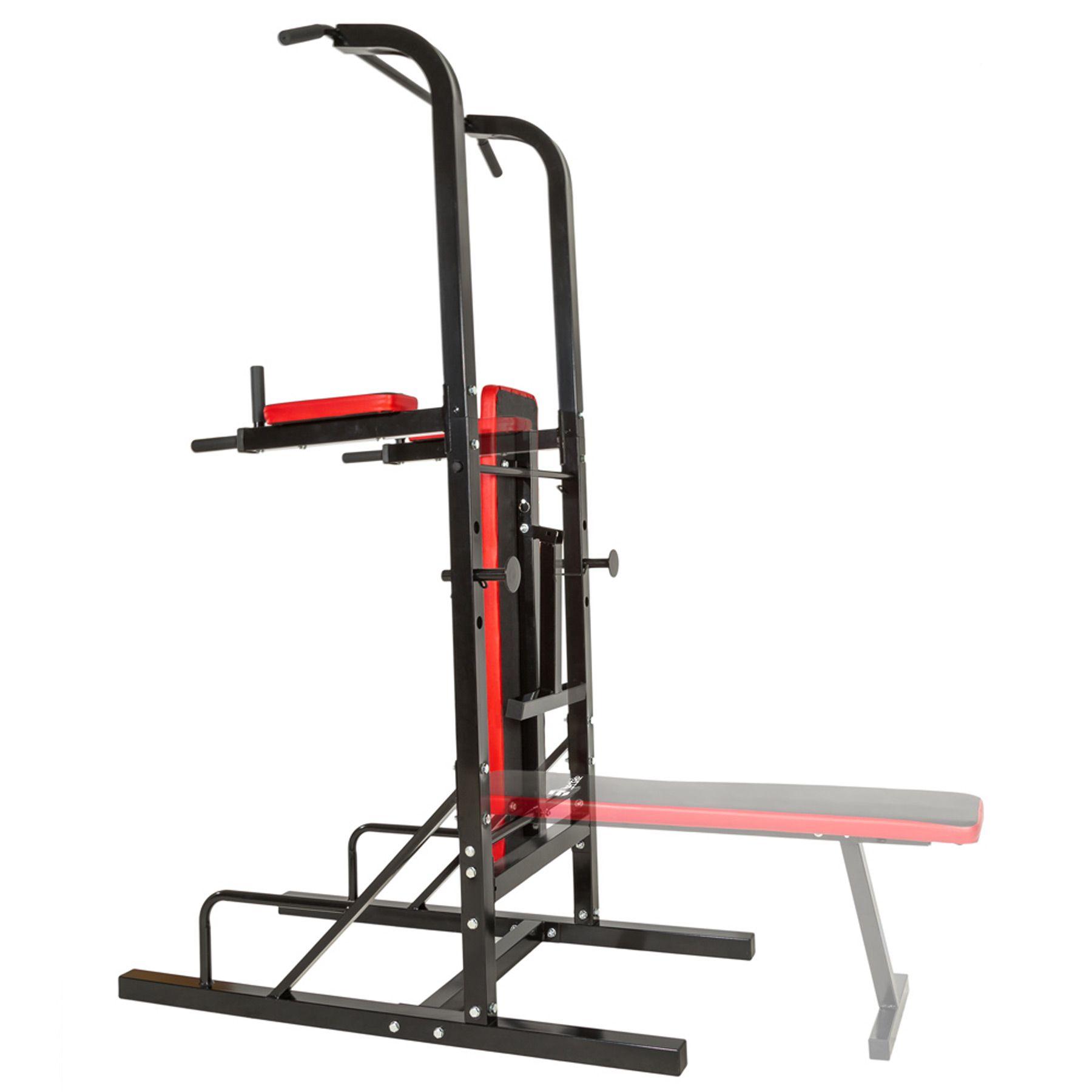 Station De Musculation Banc Multifonction Fitness Dips Barre