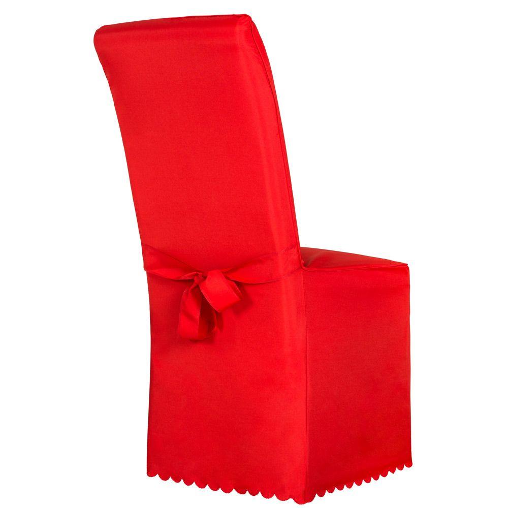 Dettagli su Coprisedie della sedia rivestimento matrimonio universale con fiocco rosso nuovo