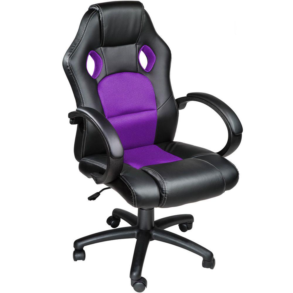 chaise fauteuil si ge de bureau racing sport tissu baquet voiture simili ebay. Black Bedroom Furniture Sets. Home Design Ideas