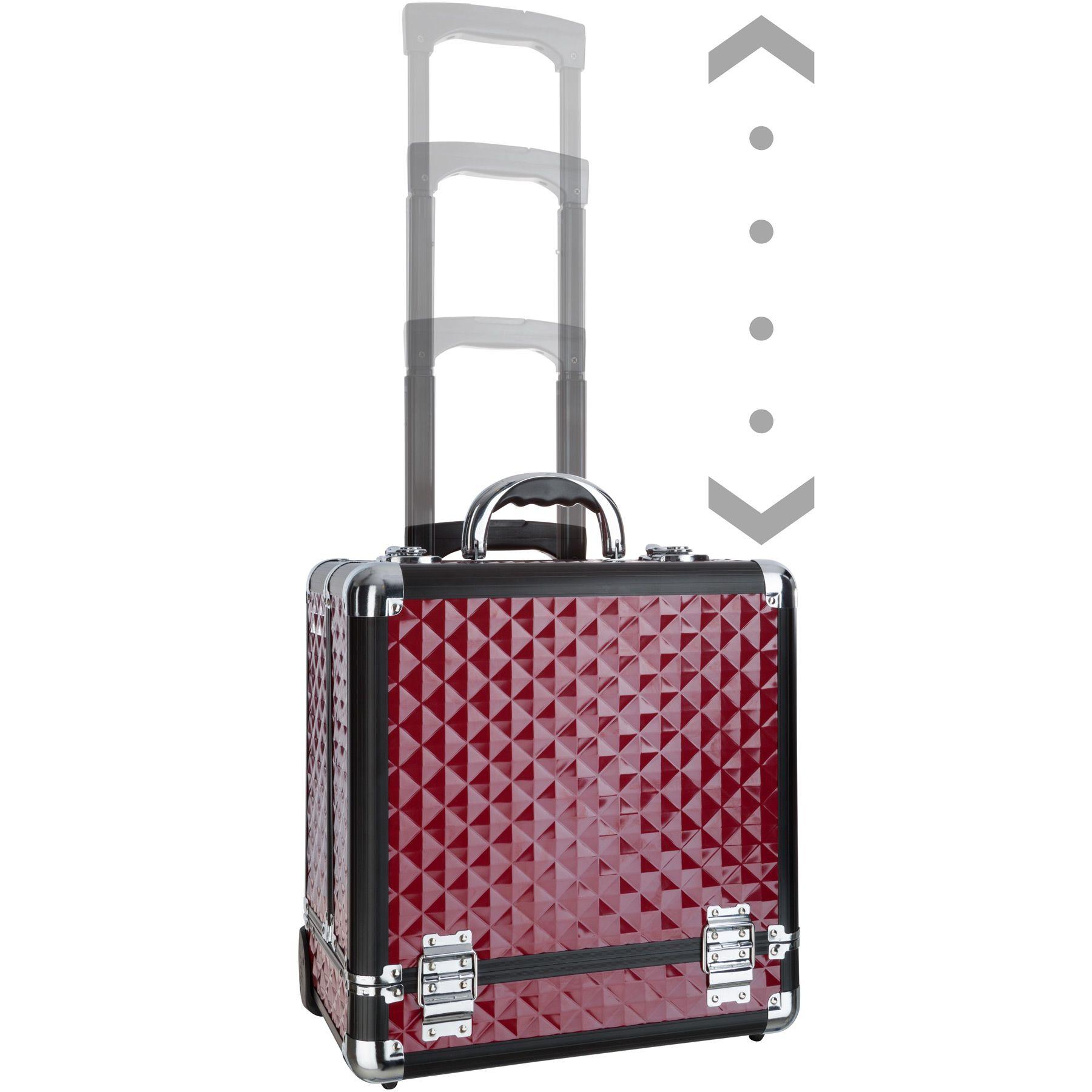 Valise cosmétique Trolley bagages valise de maquillage case à bijoux   eBay