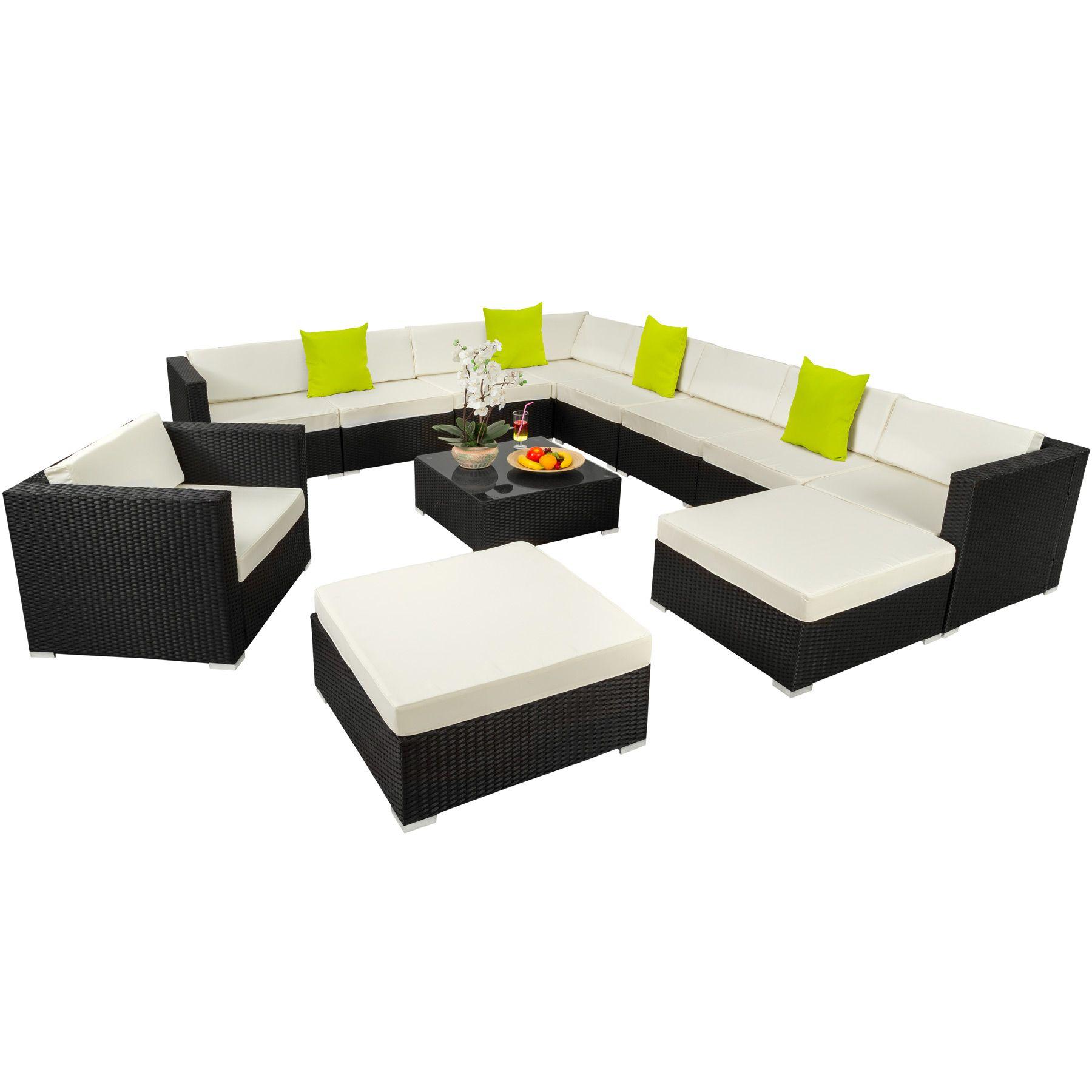 AuBergewohnlich Unsere Rattan Lounge Ist Vielseitig Einsetzbar Und Wertet Ihren Garten,  Ihre Terrasse, Wintergarten Oder Wohnzimmer Optisch Auf.