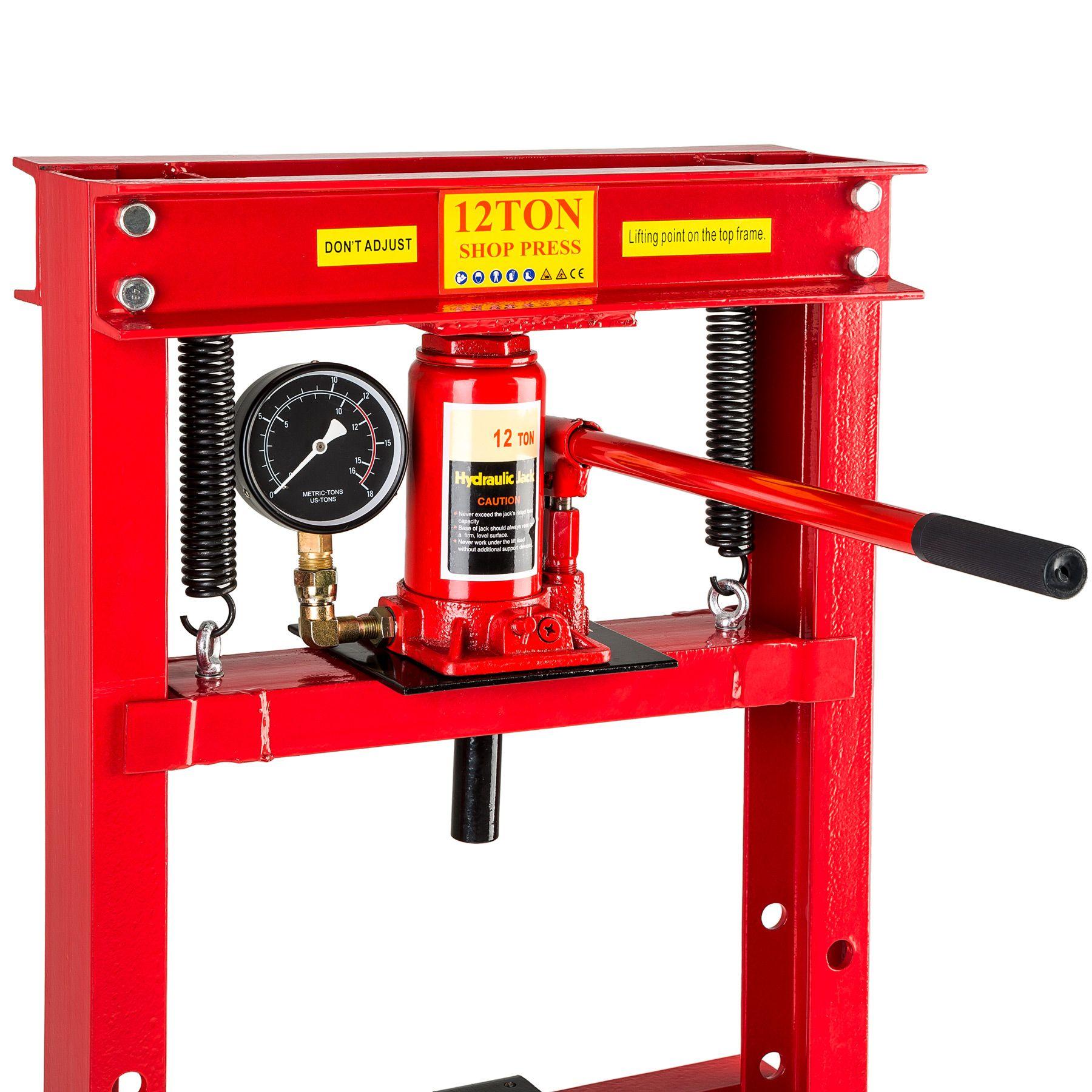Pressa da banco idraulica strettoio da officina manuale 12 for Pressa manuale usata