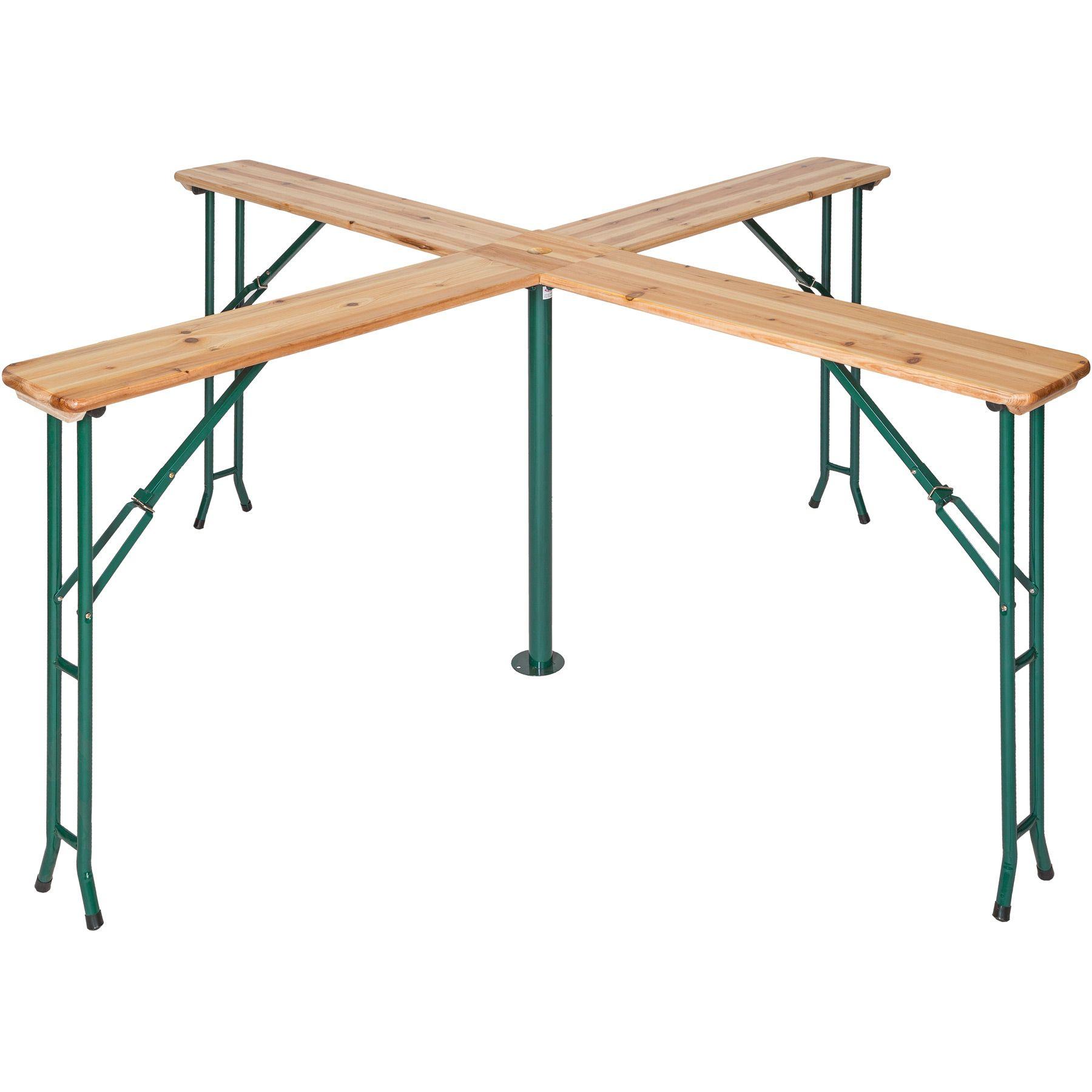 Sur Bois De Avec Détails Parasol Jardin Haute Pliable Bar Porte Brasserie Quattro Table kXNn0OP8w