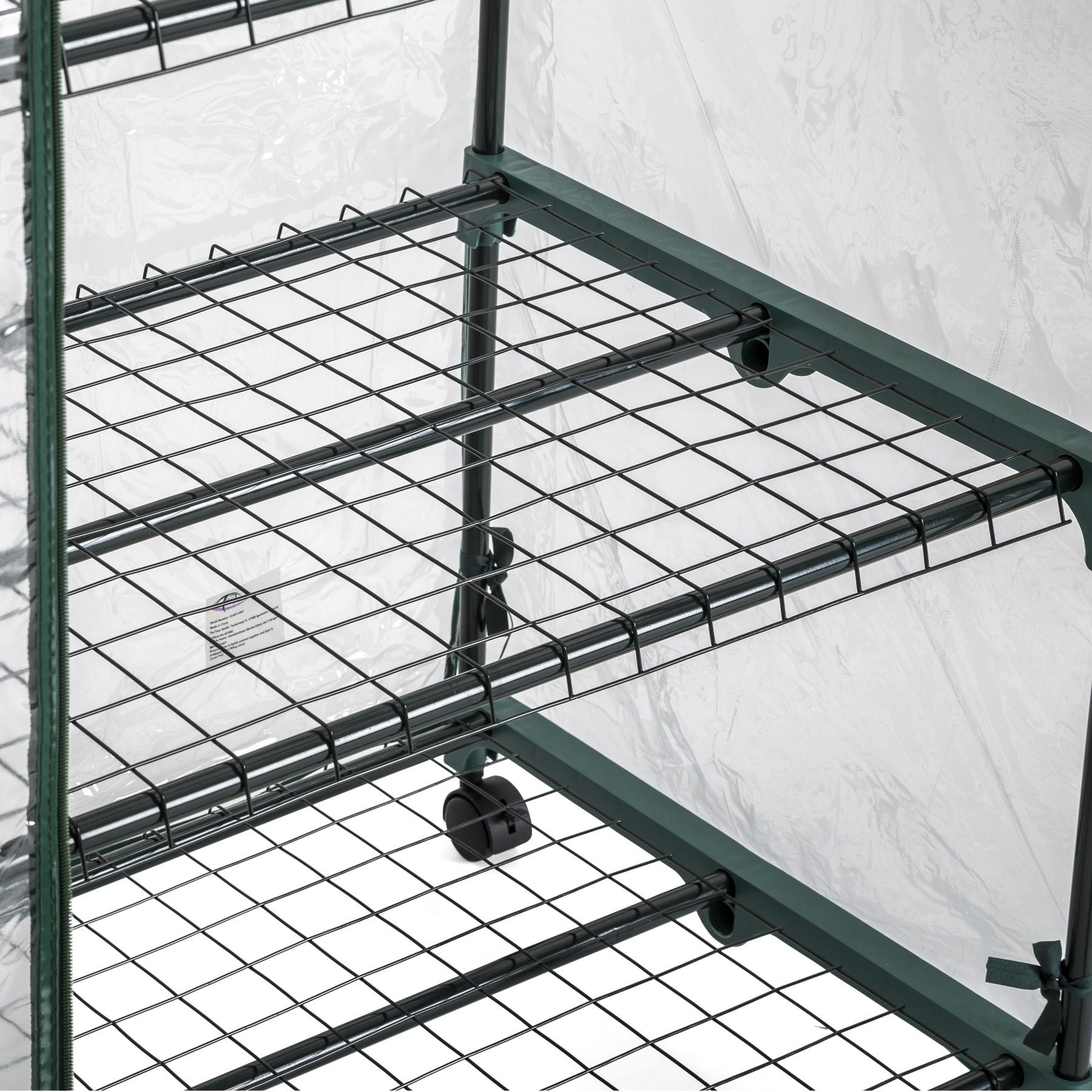 gew chshaus folie treibhaus 3 etagen mit rollen balkon tomaten fr hbeet 133cm ebay. Black Bedroom Furniture Sets. Home Design Ideas