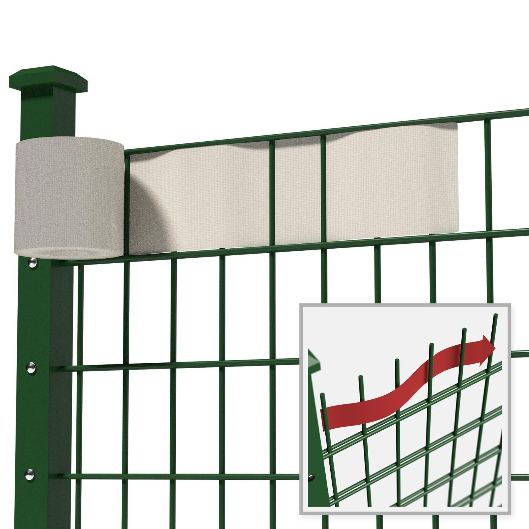 Rouleau 35mx19cm PVC brise-vue pare-vent pour clôture ...