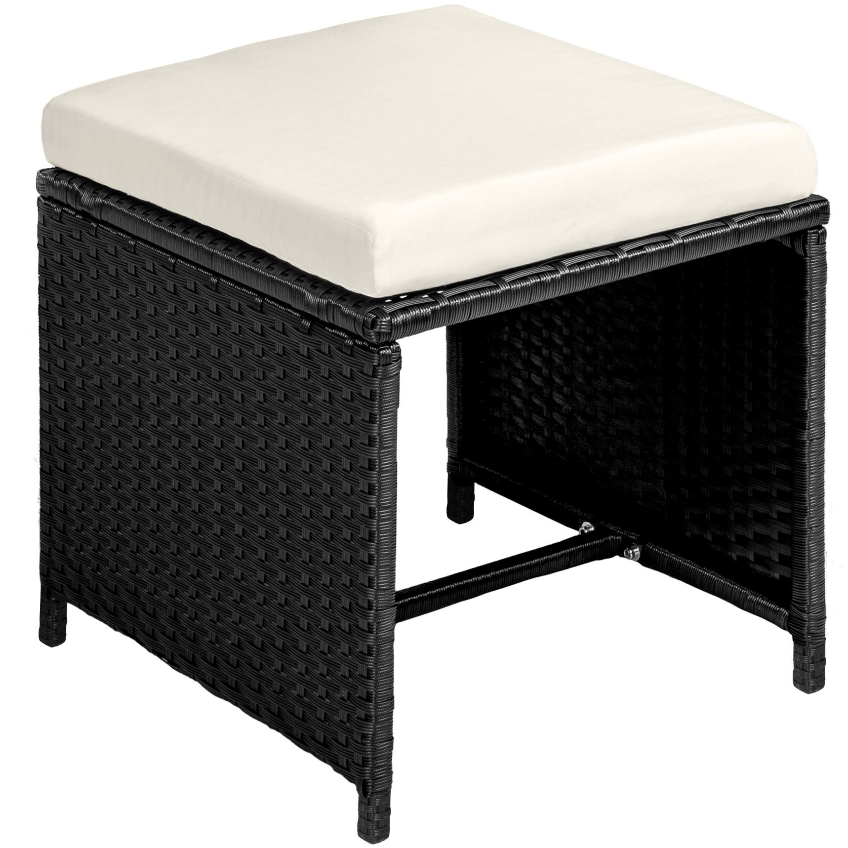 Conjunto muebles de jardín terraza ratán sintético 8x silla ...