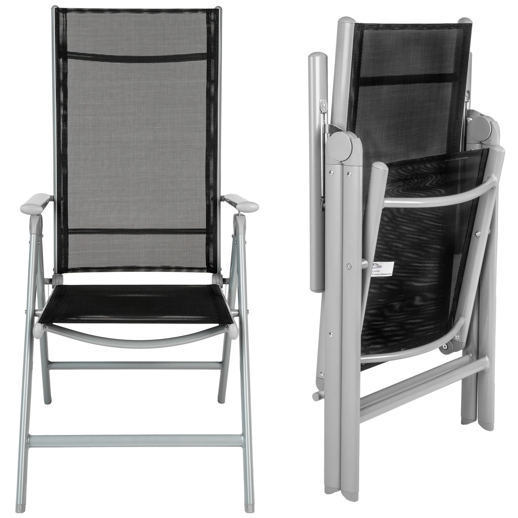 Alluminio set mobili da giardino 4 1 tavolo sedie pieghevole arredo esterno ebay - Ebay mobili da giardino ...