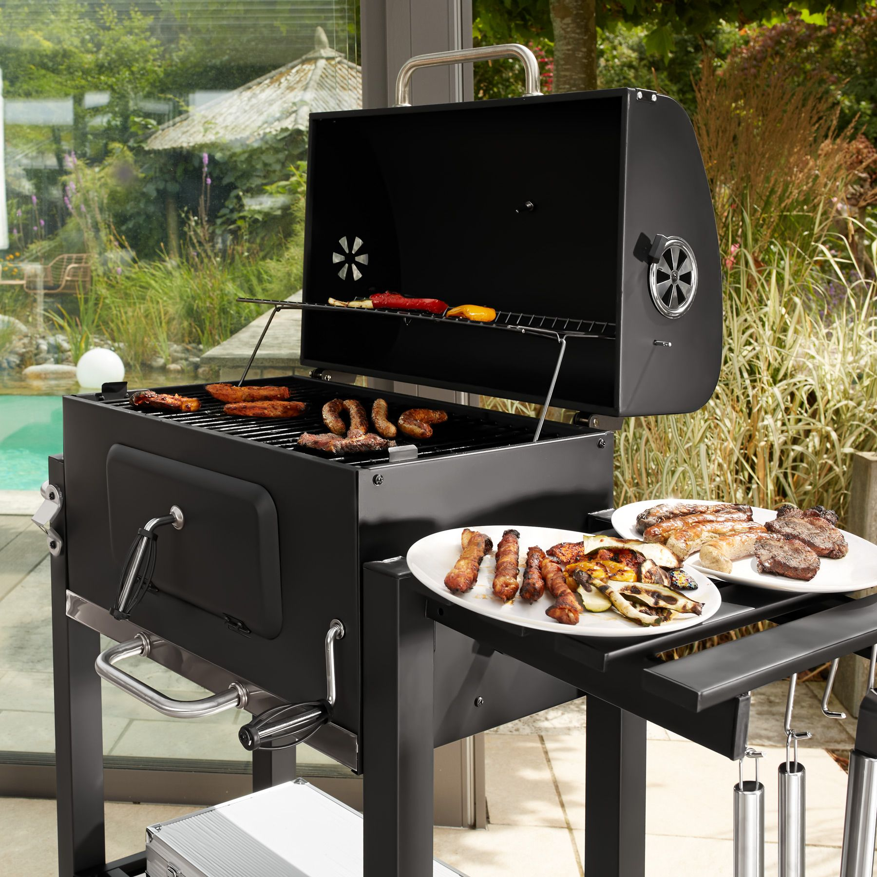 Lotusgrill barbecue grill au charbon xx | Nature & Découvertes