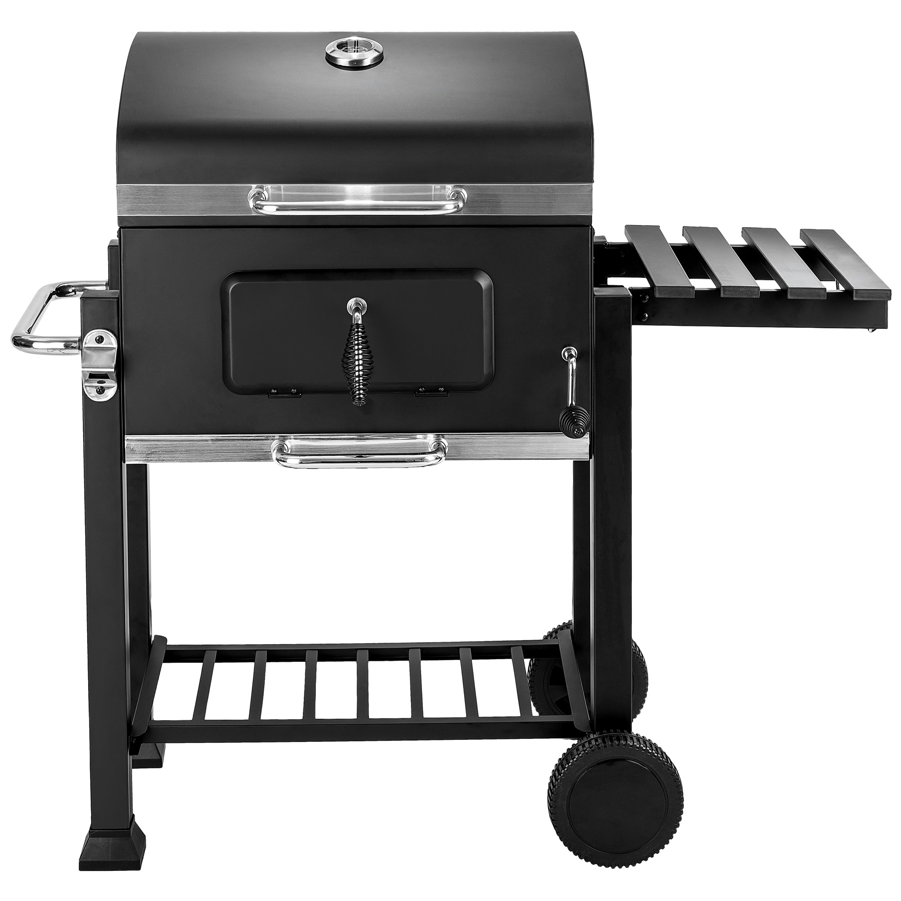 bbq holzkohle grill barbecue smoker r ucherofen grillwagen gartengrill ebay. Black Bedroom Furniture Sets. Home Design Ideas