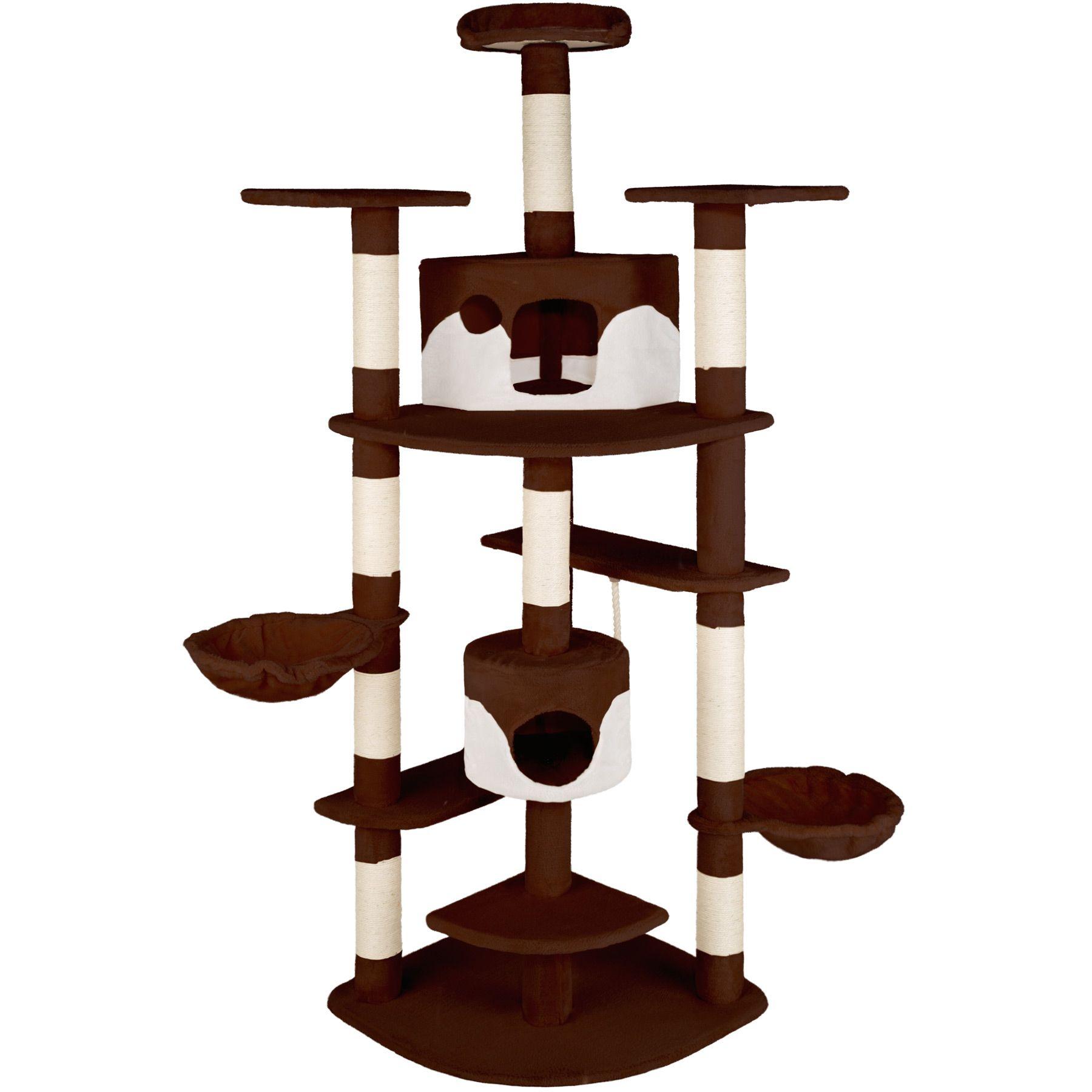 kratzbaum f r katzen katzenkratzbaum katzenbaum kletterbaum sisal ebay. Black Bedroom Furniture Sets. Home Design Ideas