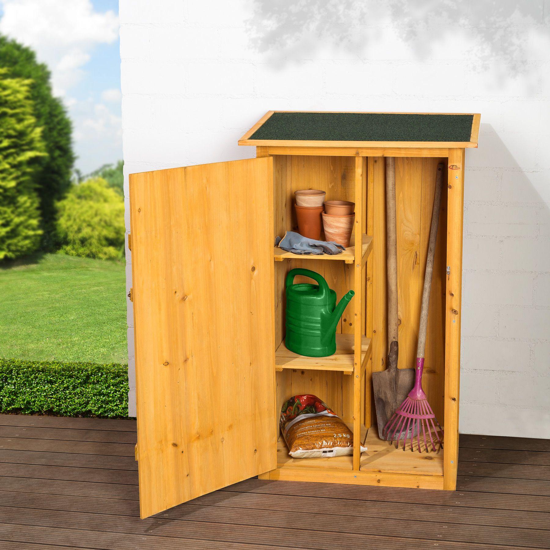 Cabane À Outils Bois détails sur armoire de jardin remise pour outils abri atelier bois toit  plat coffre cabane