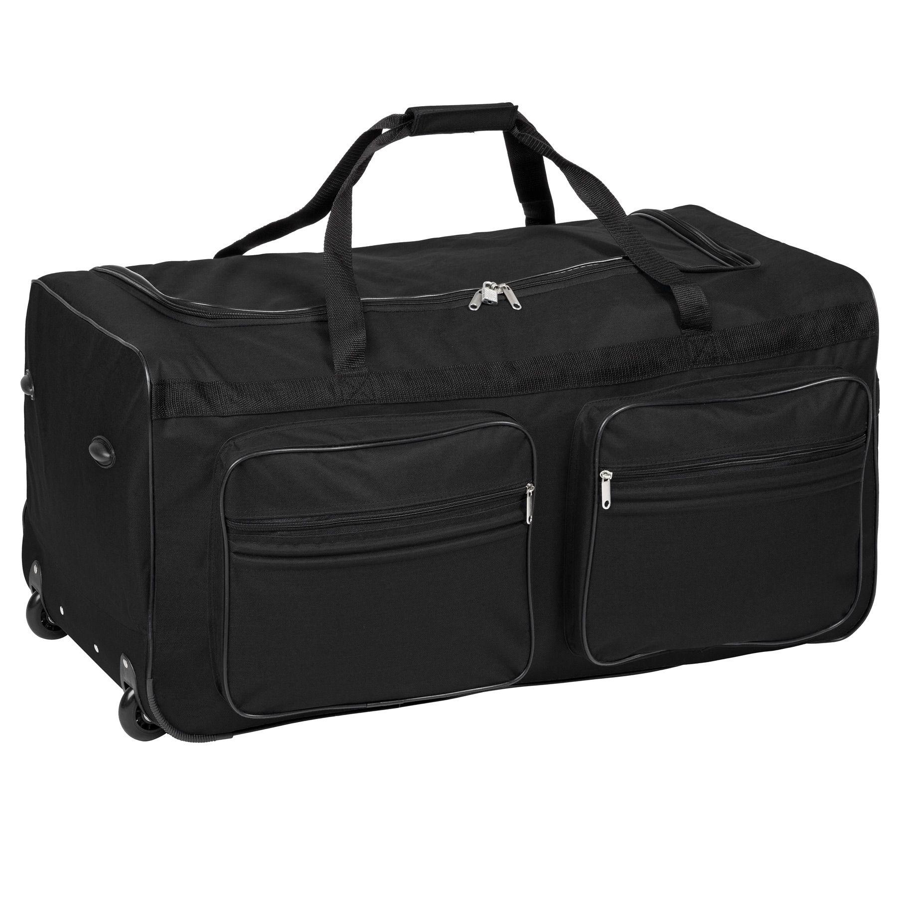 TecTake_Reisetasche_402213_1 Sac de voyage XXL valise trolley légère sport bagage à roulettes 160 litres