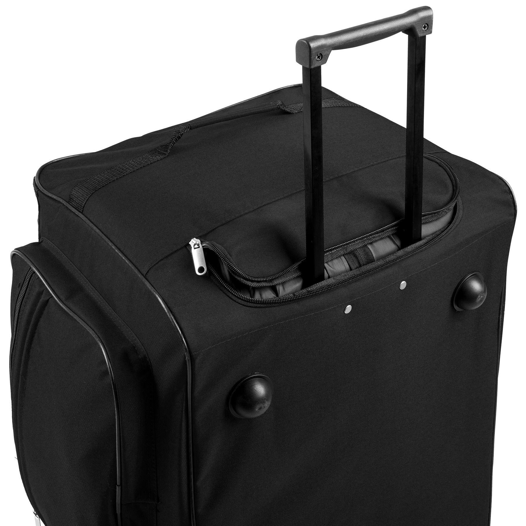 TecTake_Reisetasche_402213_4 Sac de voyage XXL valise trolley légère sport bagage à roulettes 160 litres