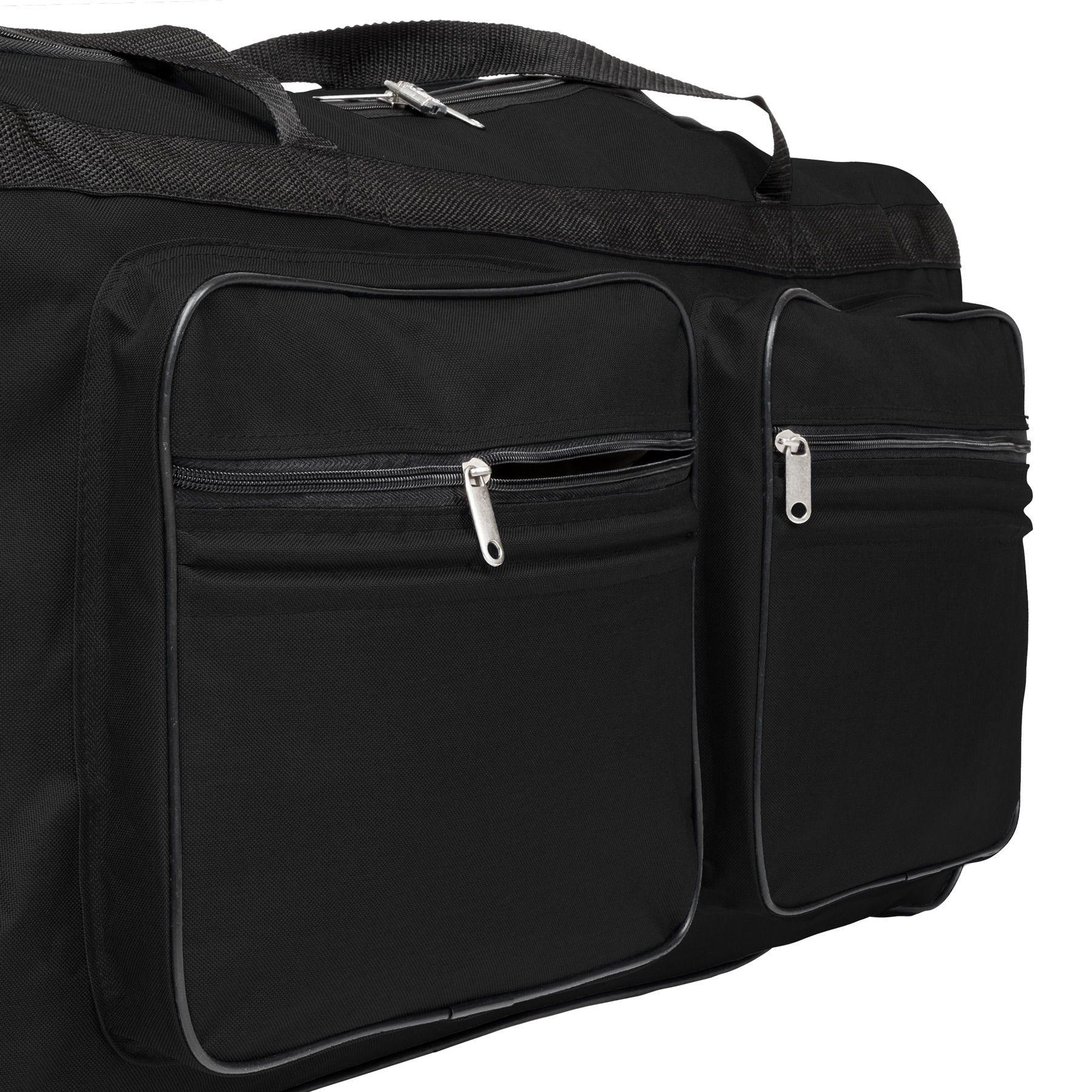 TecTake_Reisetasche_402213_5 Sac de voyage XXL valise trolley légère sport bagage à roulettes 160 litres