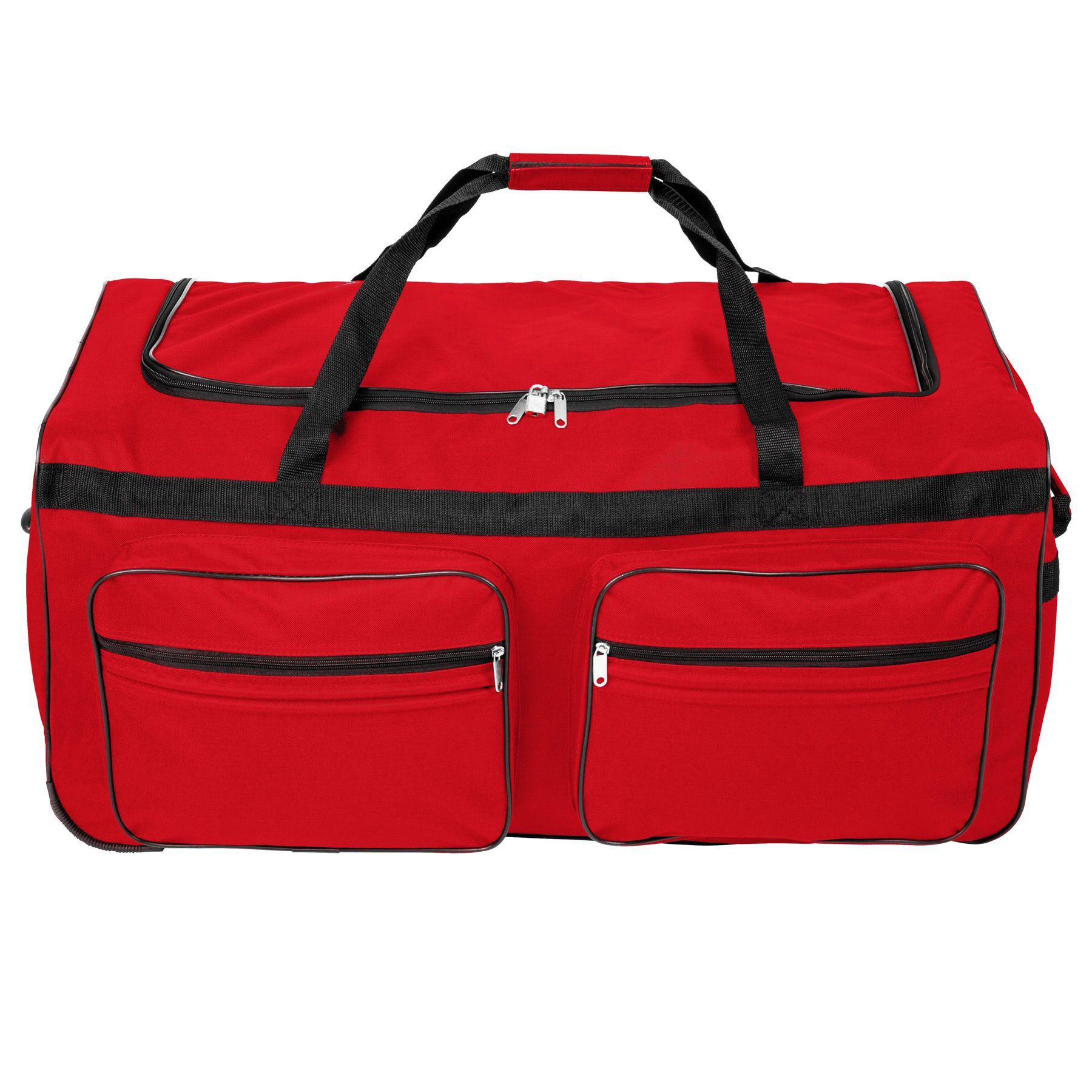 TecTake_Reisetasche_402214_2 Sac de voyage XXL valise trolley légère sport bagage à roulettes 160 litres