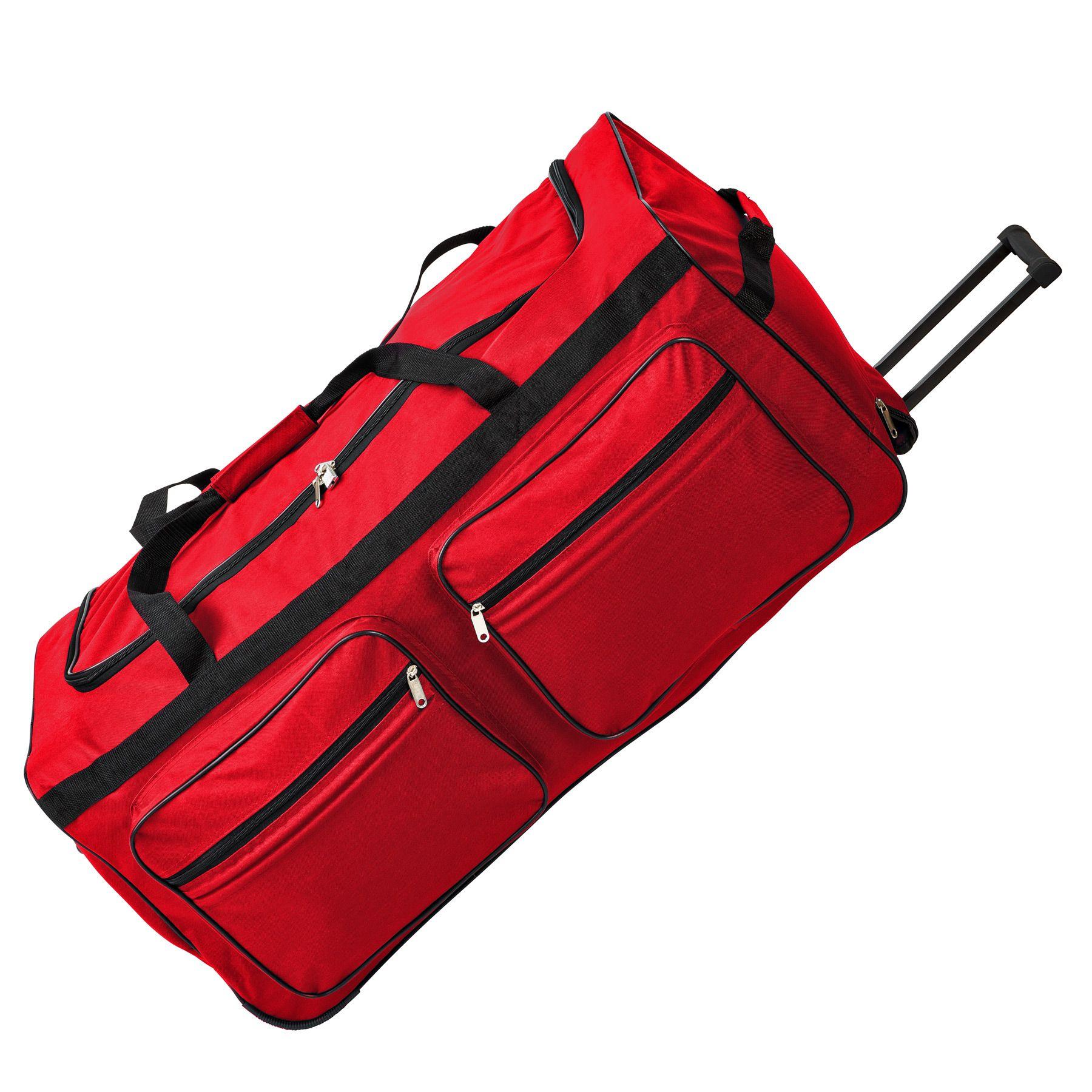 TecTake_Reisetasche_402214_3 Sac de voyage XXL valise trolley légère sport bagage à roulettes 160 litres