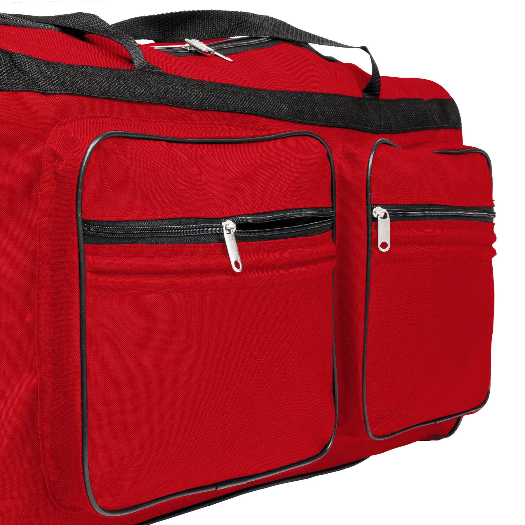 TecTake_Reisetasche_402214_5 Sac de voyage XXL valise trolley légère sport bagage à roulettes 160 litres