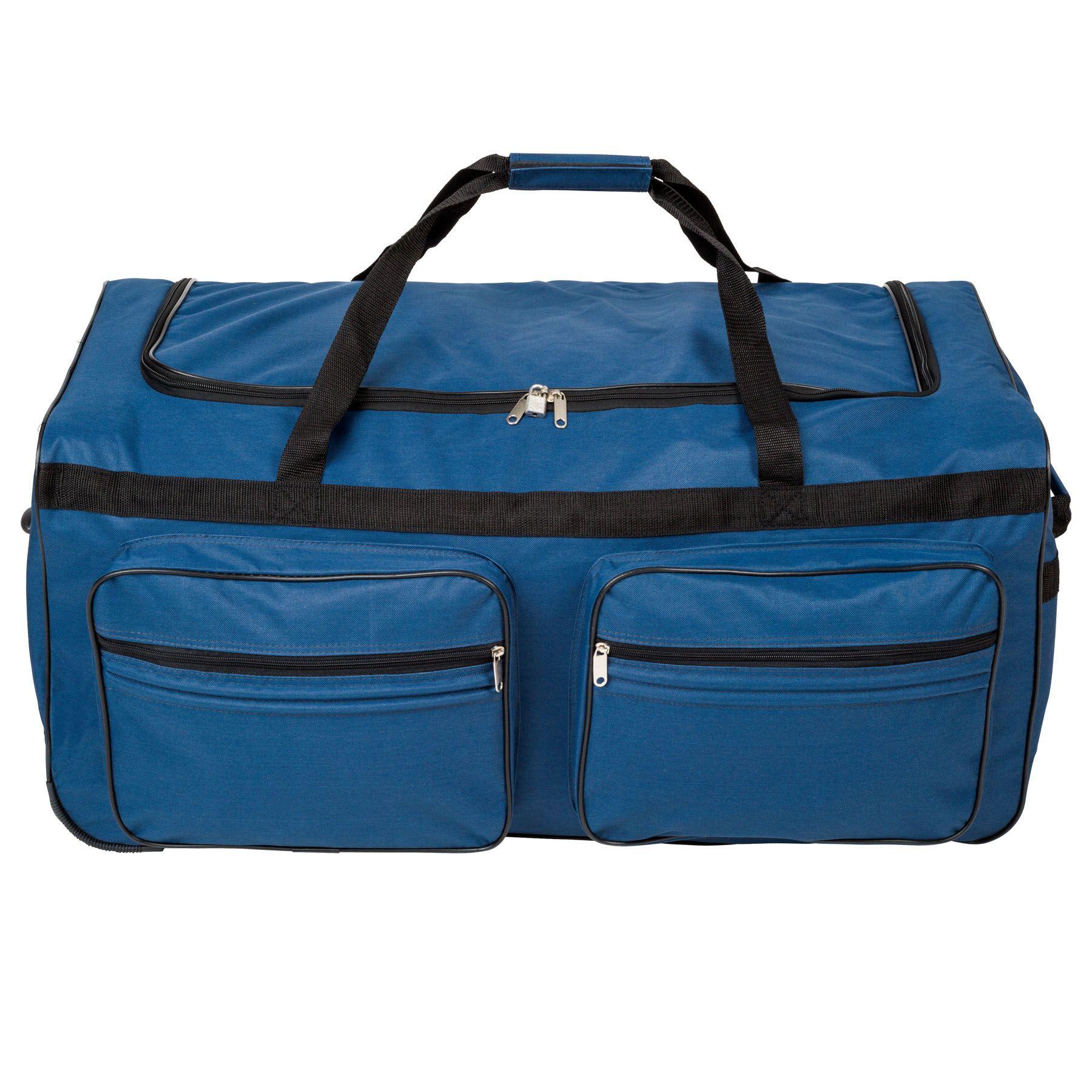 402215_2 Sac de voyage XXL valise trolley légère sport bagage à roulettes 160 litres