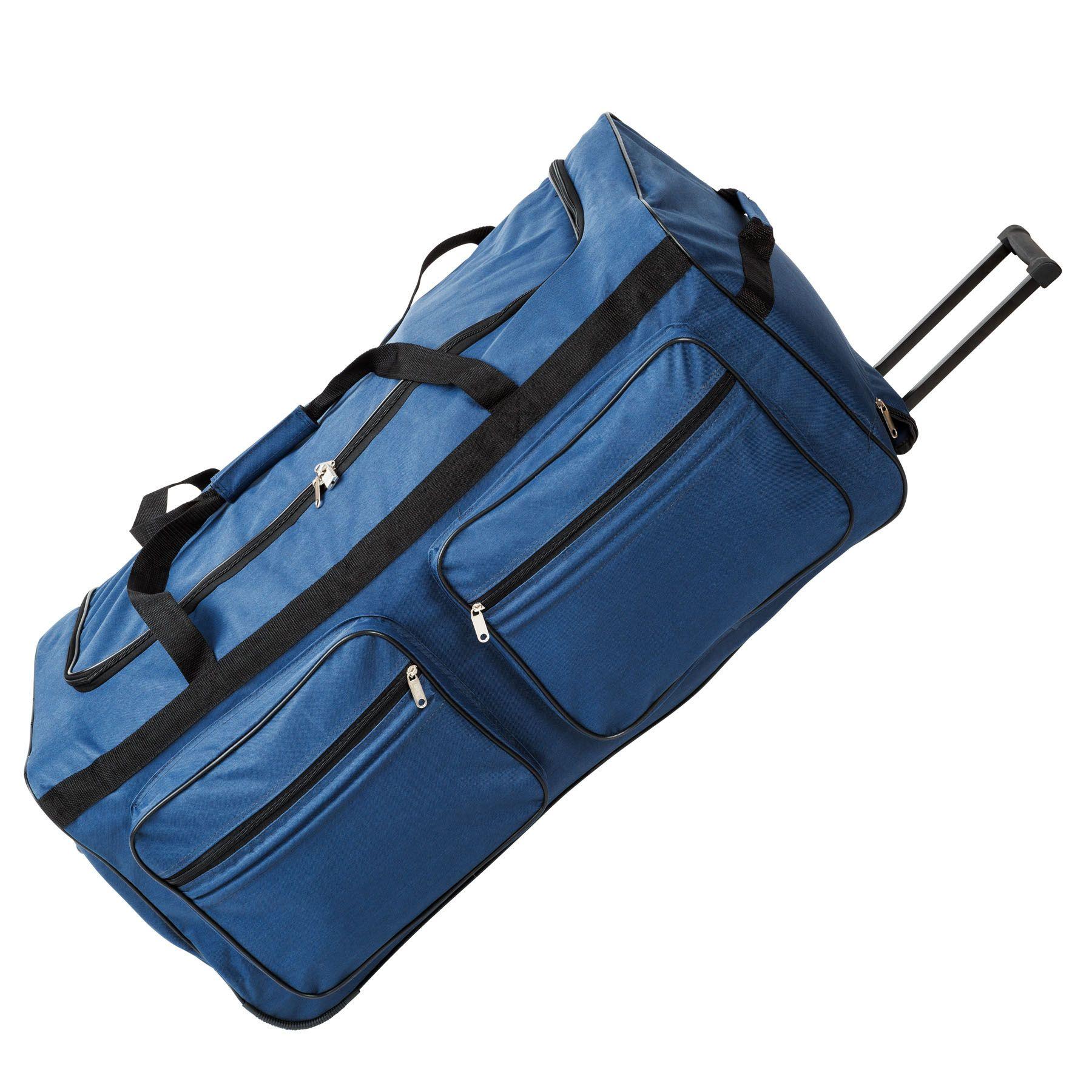 402215_3 Sac de voyage XXL valise trolley légère sport bagage à roulettes 160 litres