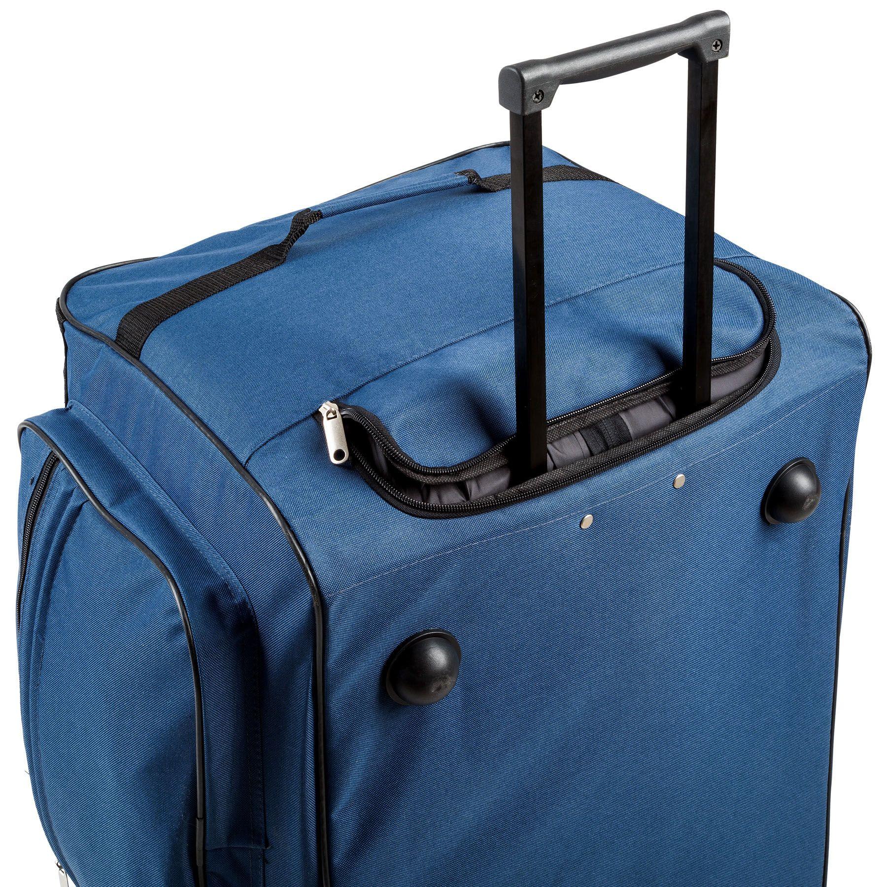 402215_4 Sac de voyage XXL valise trolley légère sport bagage à roulettes 160 litres