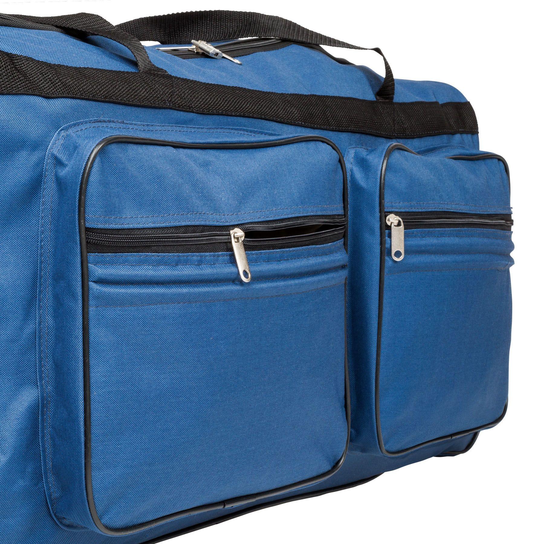402215_5 Sac de voyage XXL valise trolley légère sport bagage à roulettes 160 litres