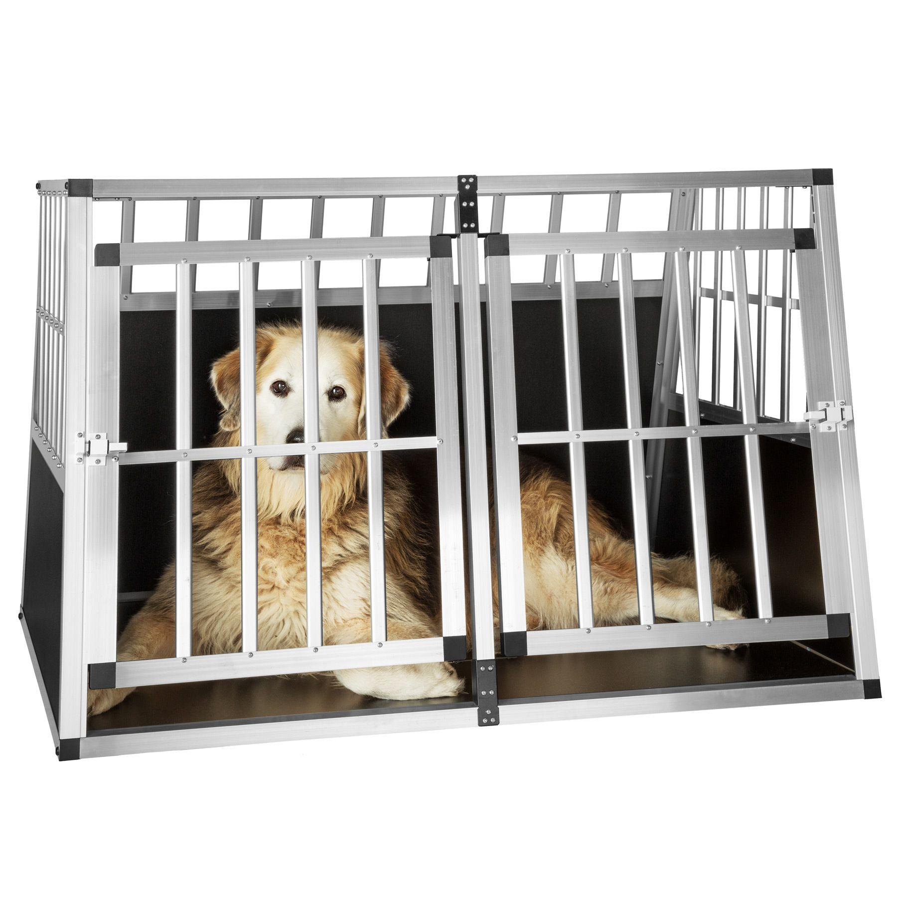 xxl cage box caisse de transport voyage pour chien mobile. Black Bedroom Furniture Sets. Home Design Ideas