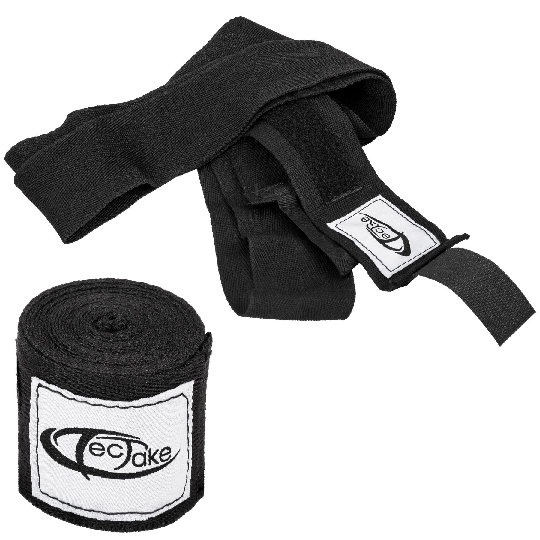 Saco de boxeo con boxing guantes vendas entrenamiento gimnasio ...