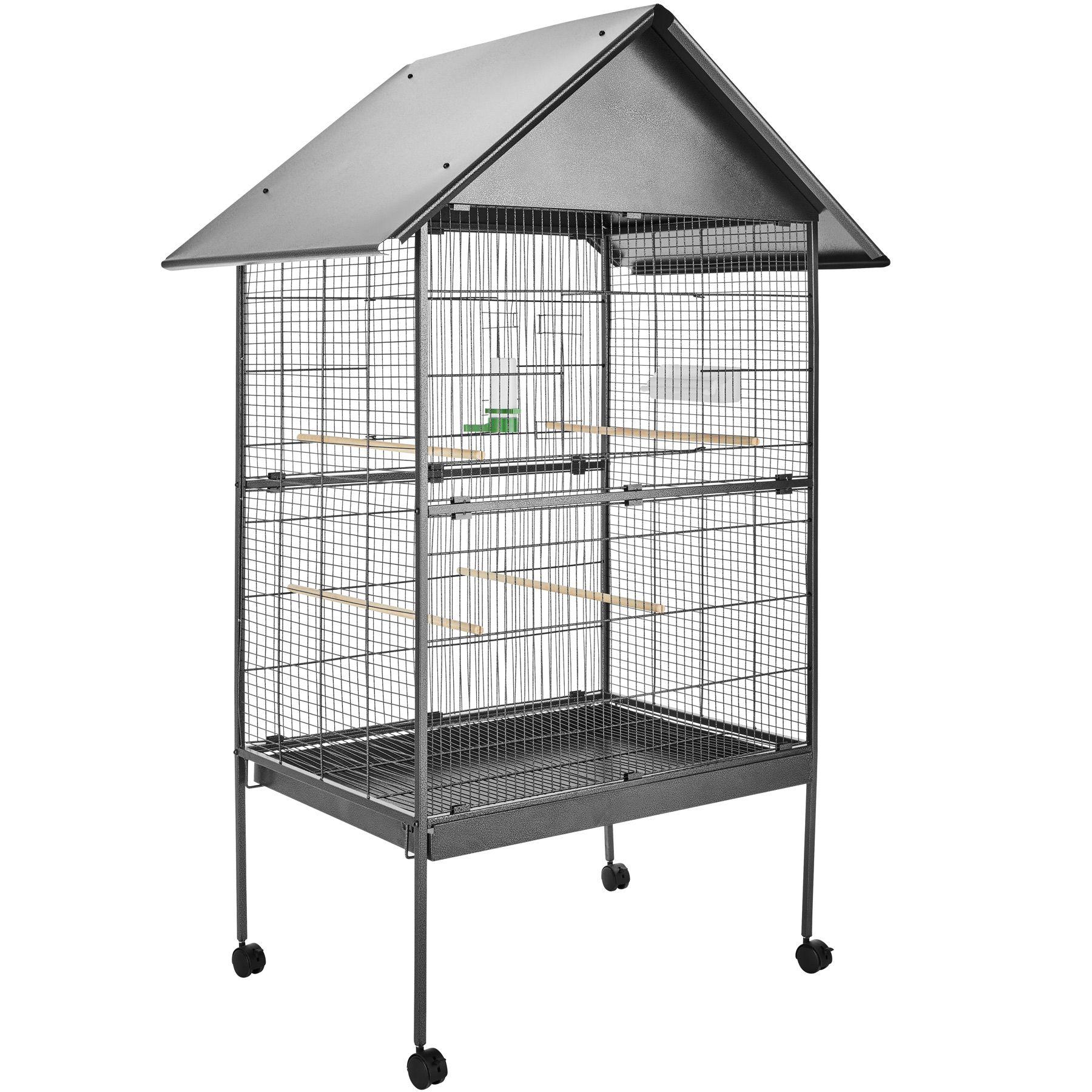 Large bird aviary cage parrot budgerigar canary metal birds house ...