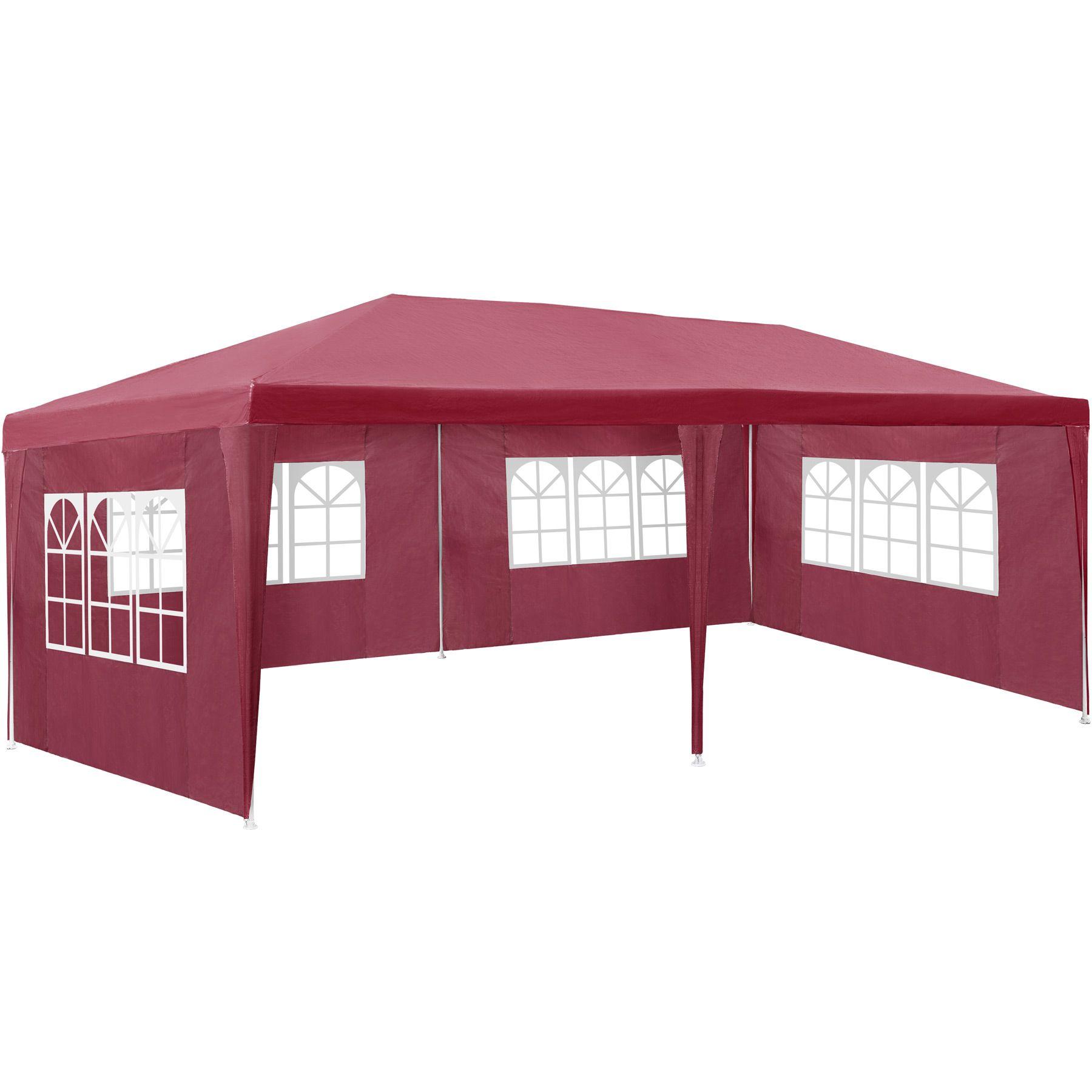 pavillon 3x6 m partyzelt gartenzelt festzelt zelt gartenpavillon bierzelt ebay. Black Bedroom Furniture Sets. Home Design Ideas