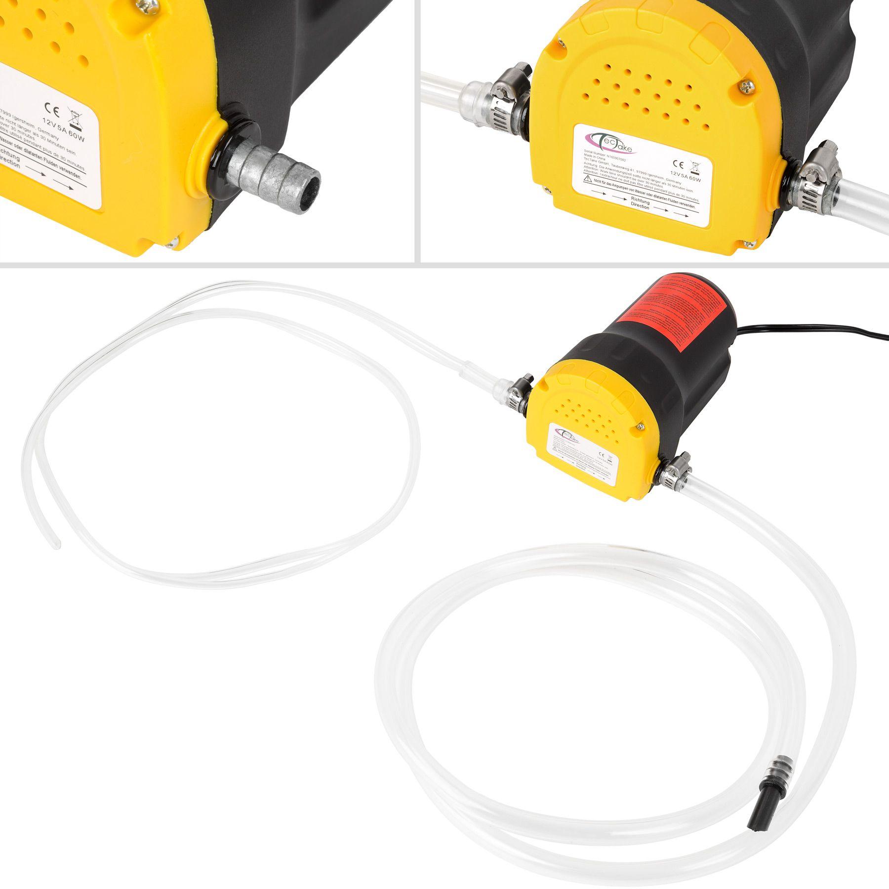Ölpumpe Ölabsaugpumpe 12V Motoröl Ölwechsel Absaugpumpe Dieselpumpe 60 W Top