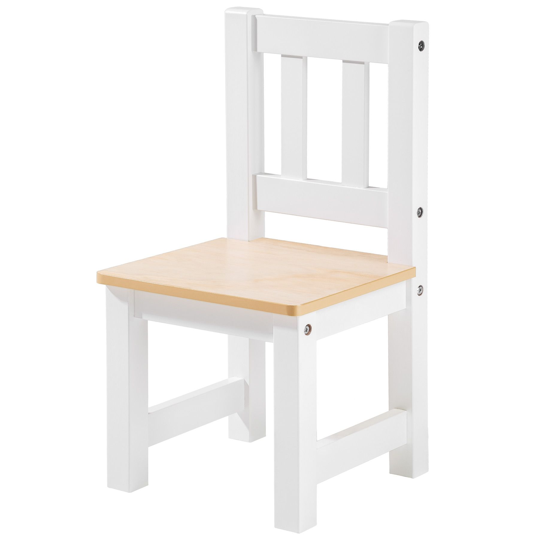 Set Mesa Y 2 Sillas Infantil Muebles Para Ni Os Habitaci N Madera  # Muebles Sin Pintar