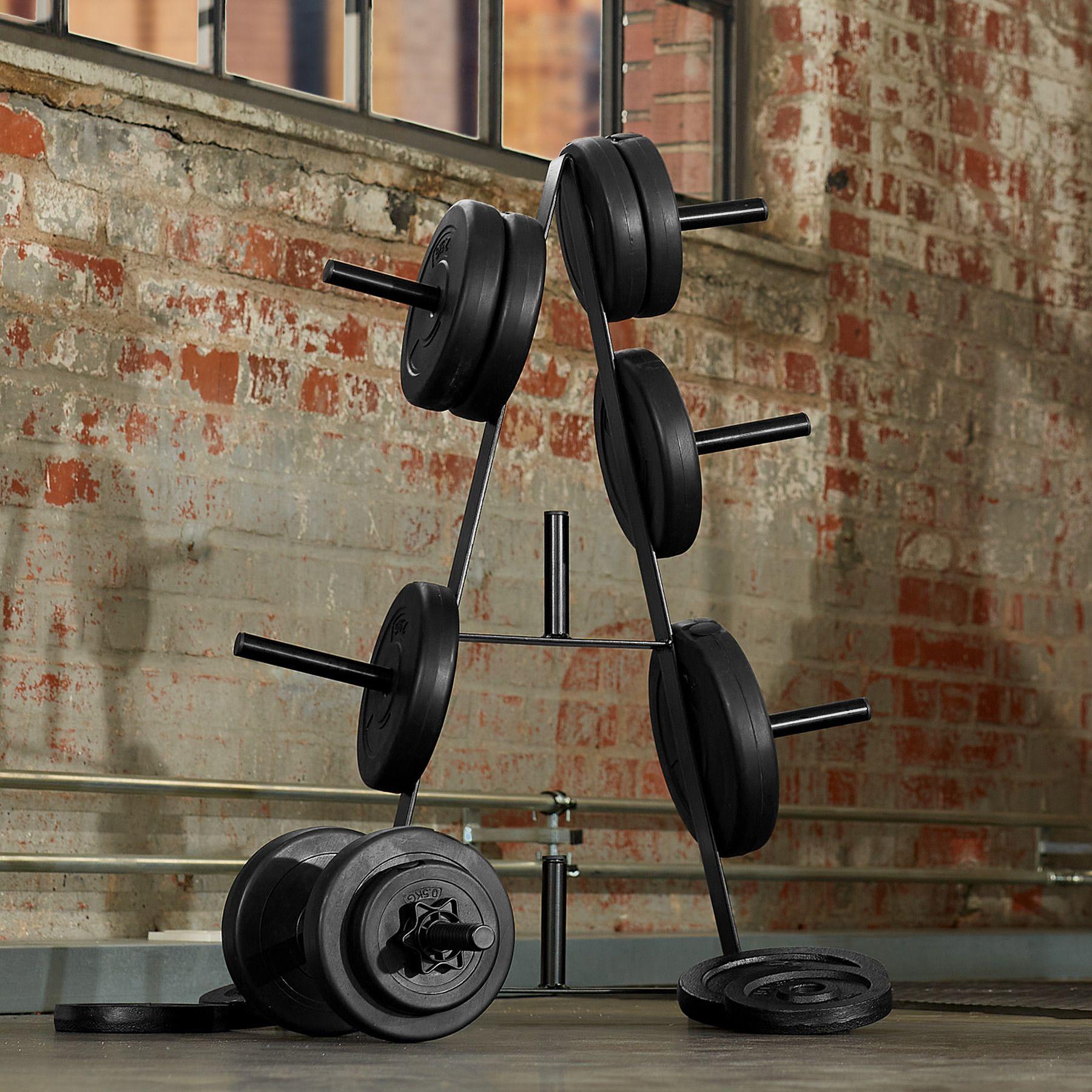 Hantelscheibenständer Gewicht Scheibenständer Hantel Scheiben 7 Ablagen 200 kg